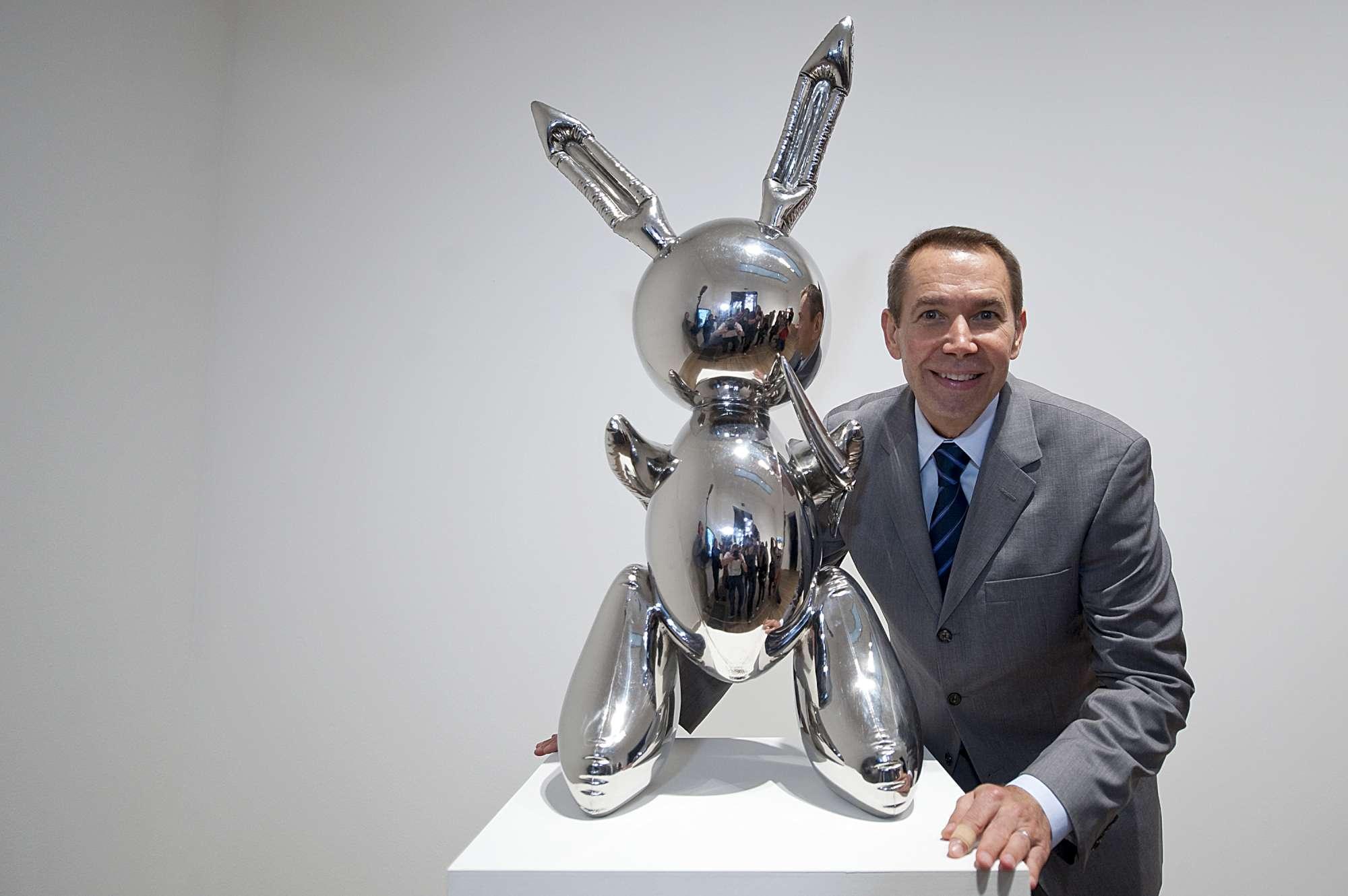 Il coniglio di Koons venduto all asta per oltre 90 milioni di dollari
