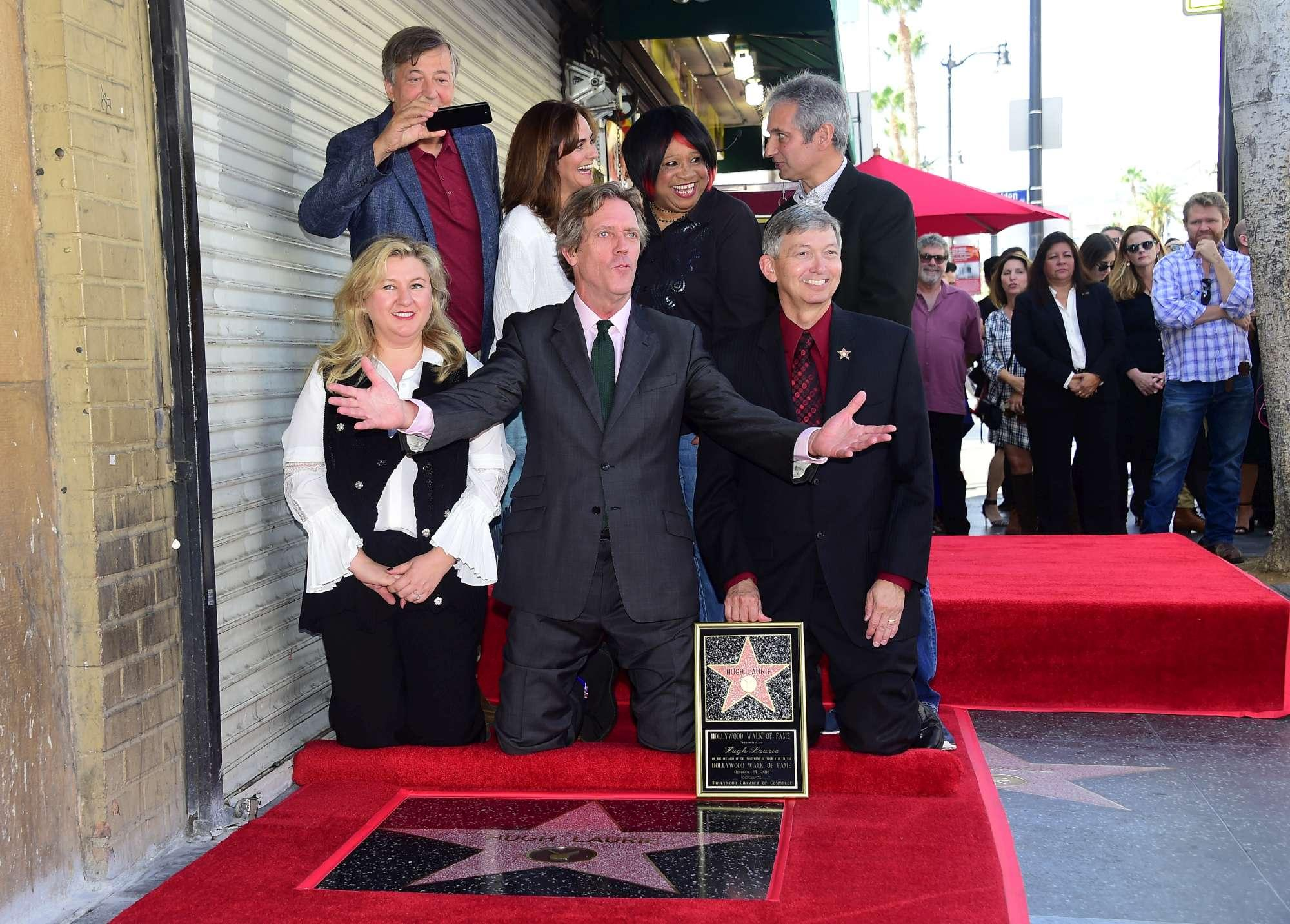 Hugh Laurie, il Dottor House tra le star sulla Walk of Fame