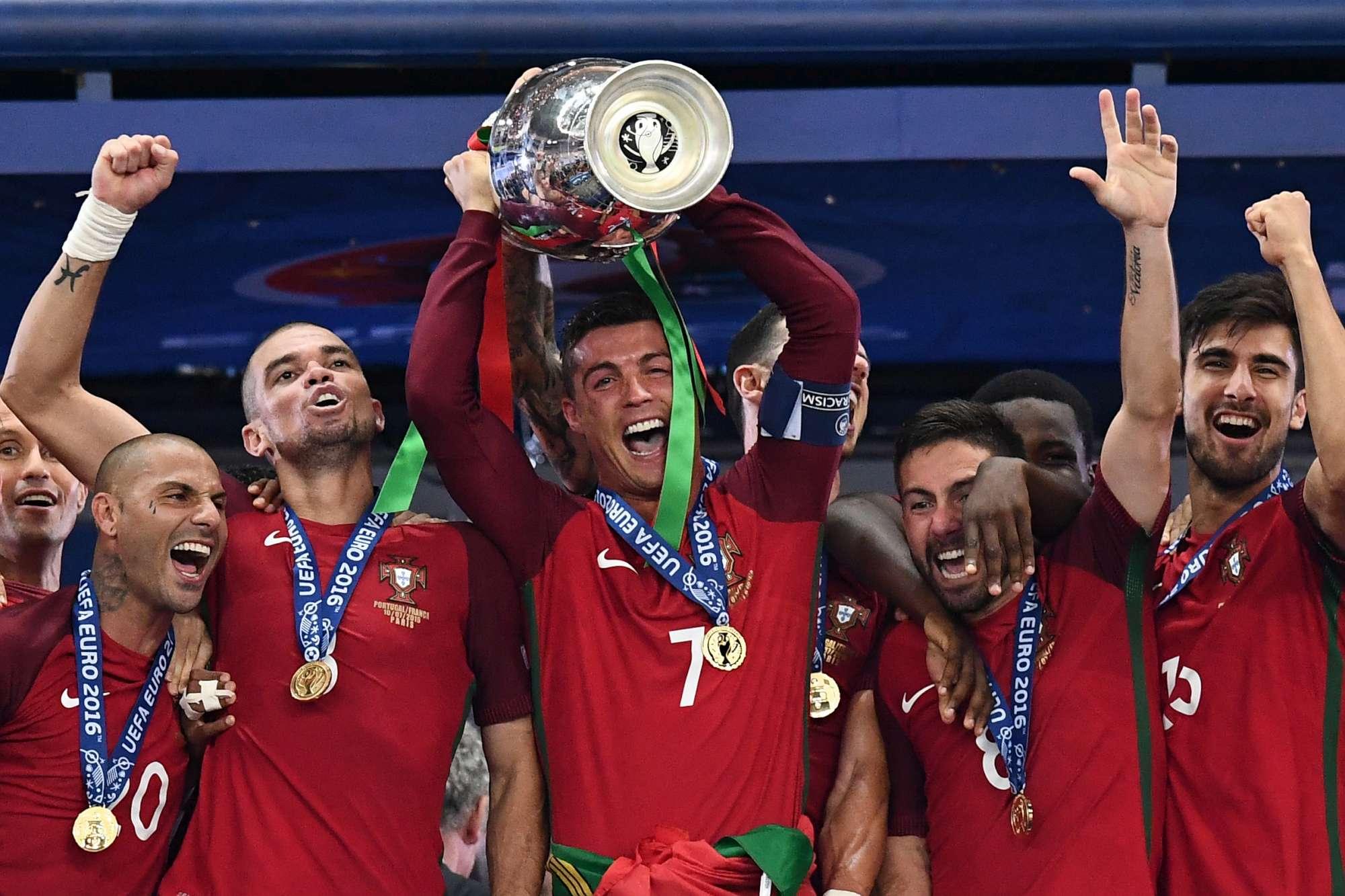 Portogallo, la festa dopo il trionfo