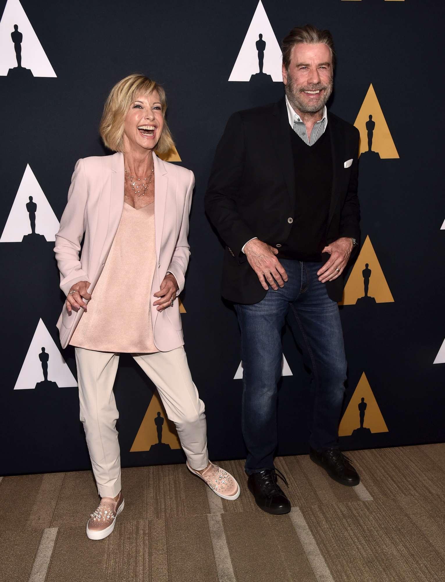 Grease , John Travolta e Olivia Newton-John insieme per i 40 anni del film