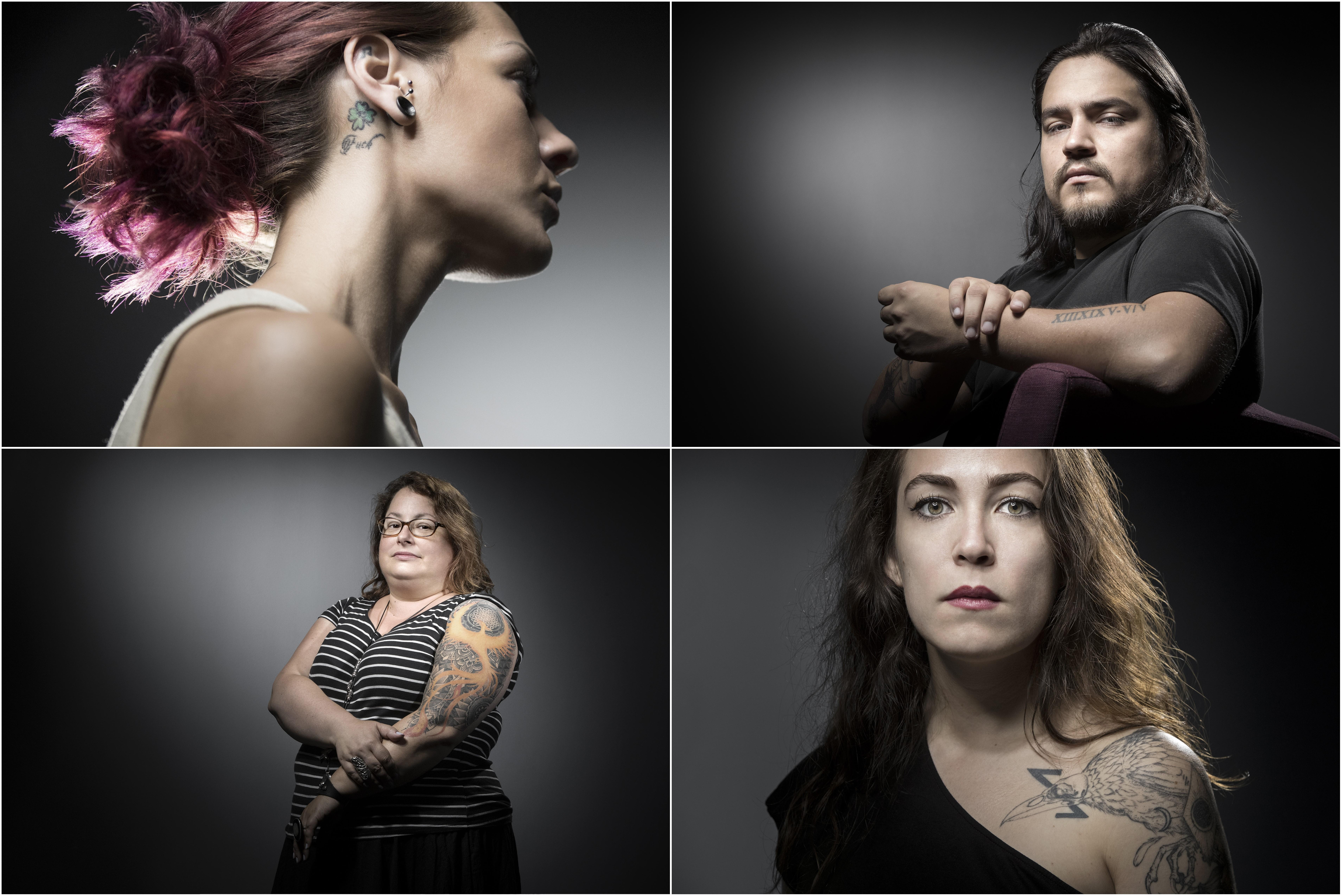 Bataclan, i tatuaggi dei sopravvissuti: