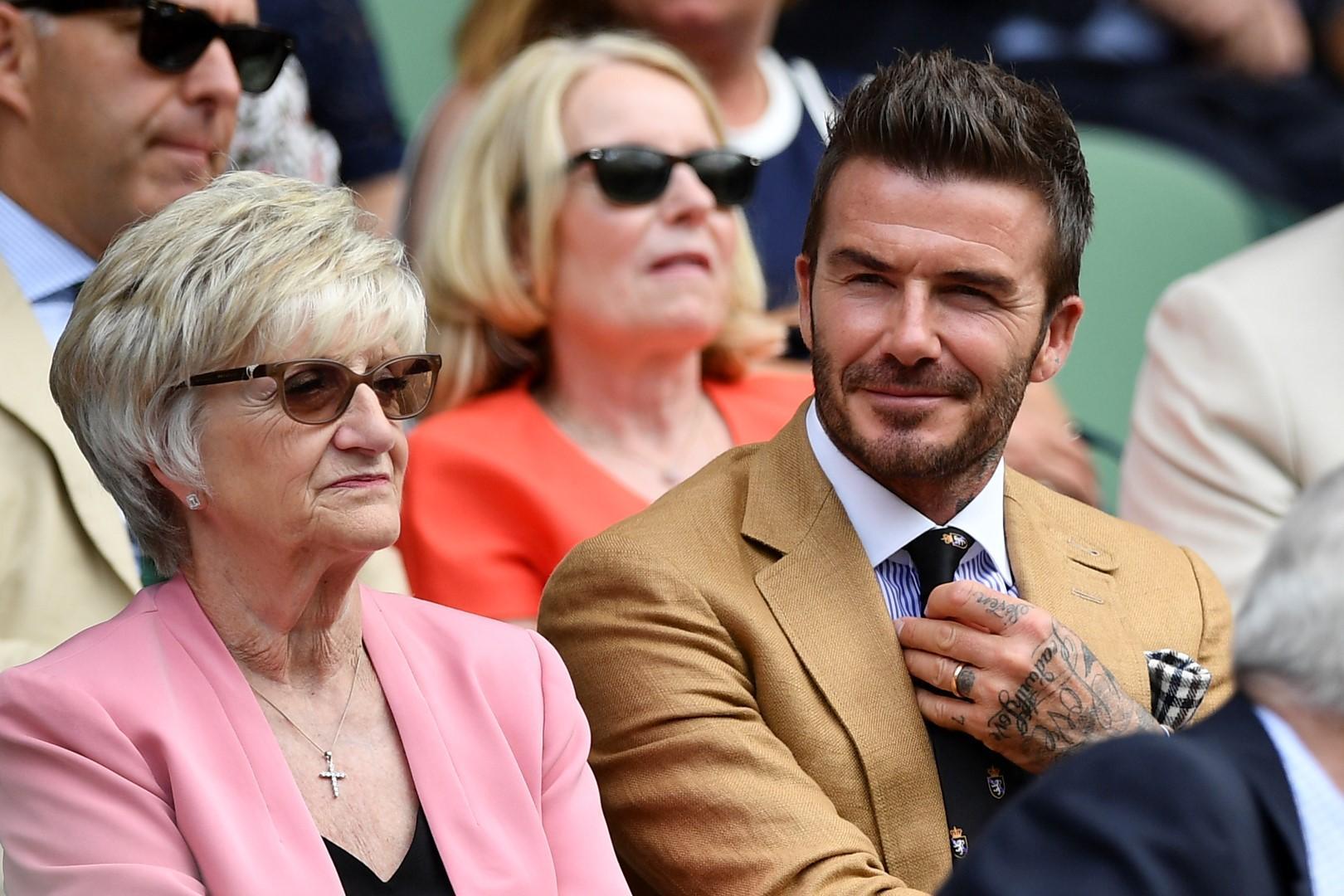David Beckham, il principe dello spezzato: quando un look stravince