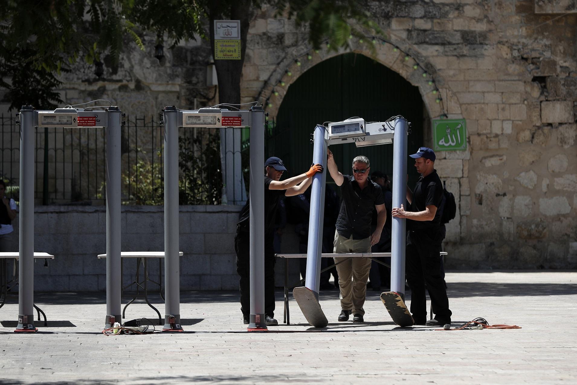 Gerusalemme, controlli alla riapertura della Spianata delle Moschee