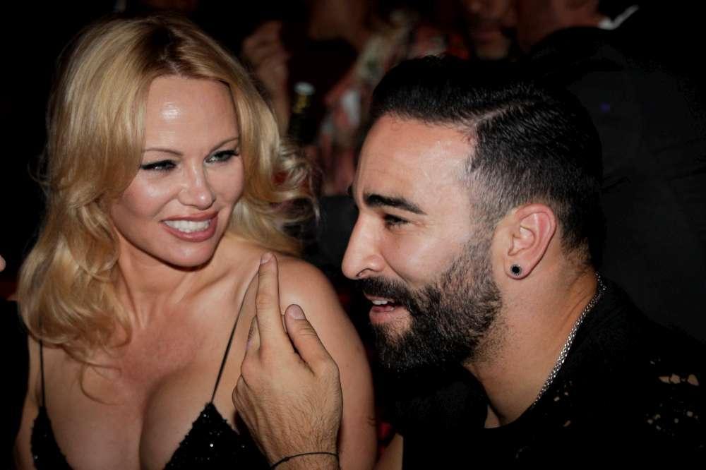 Pamela Anderson e Adil Rami, una love story.... finita