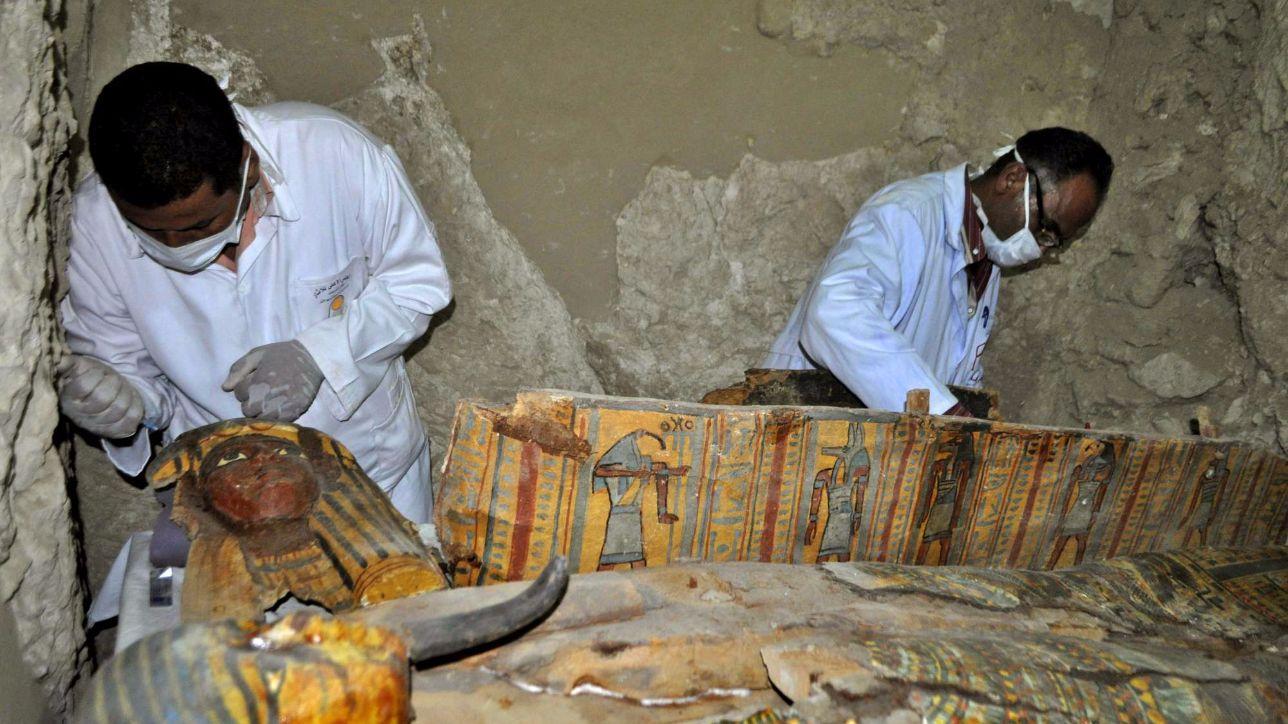 Egitto, scoperta un'antica tomba di faraoni a Luxor