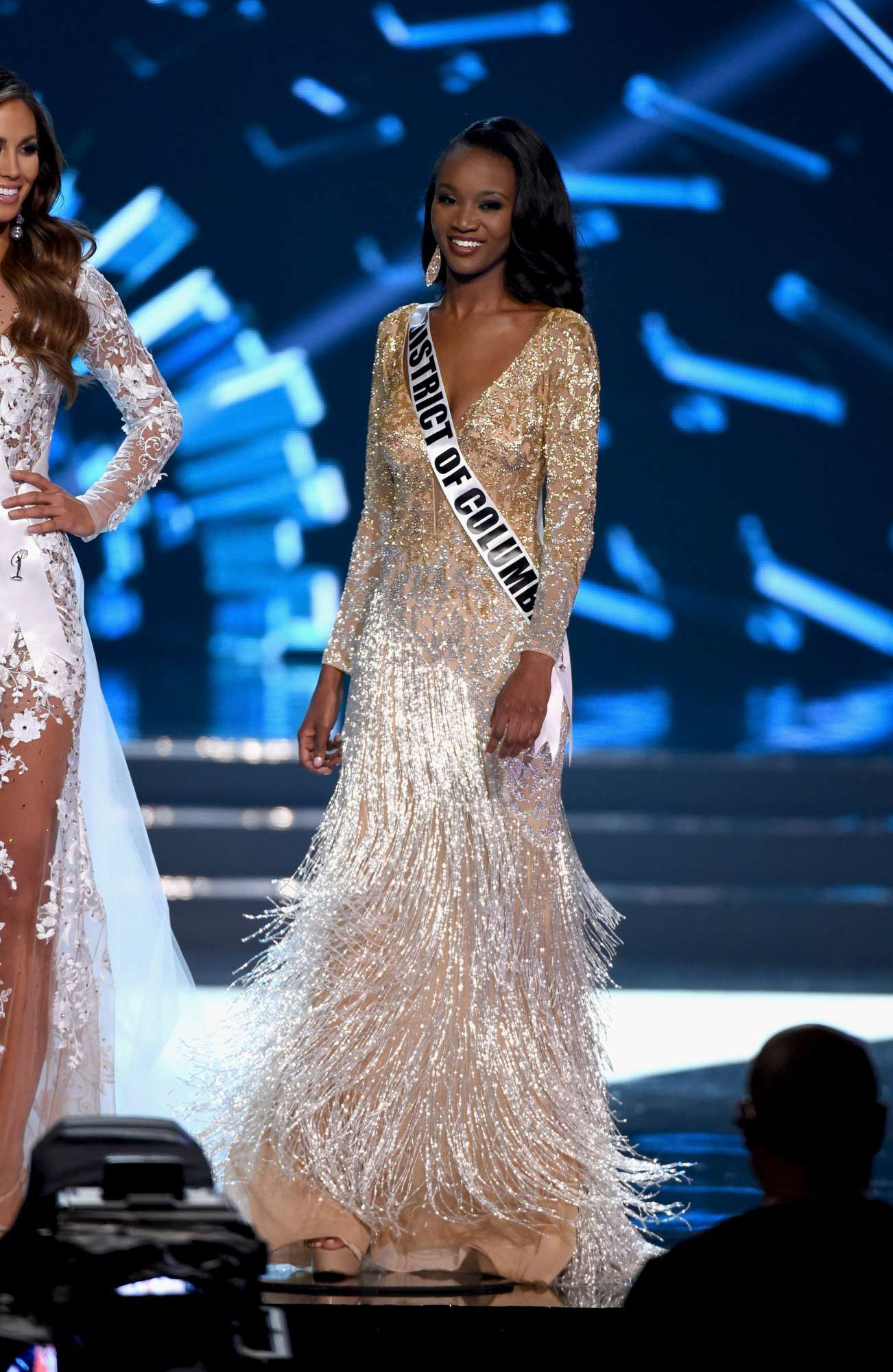 Miss Usa, reginetta di bellezza in divisa