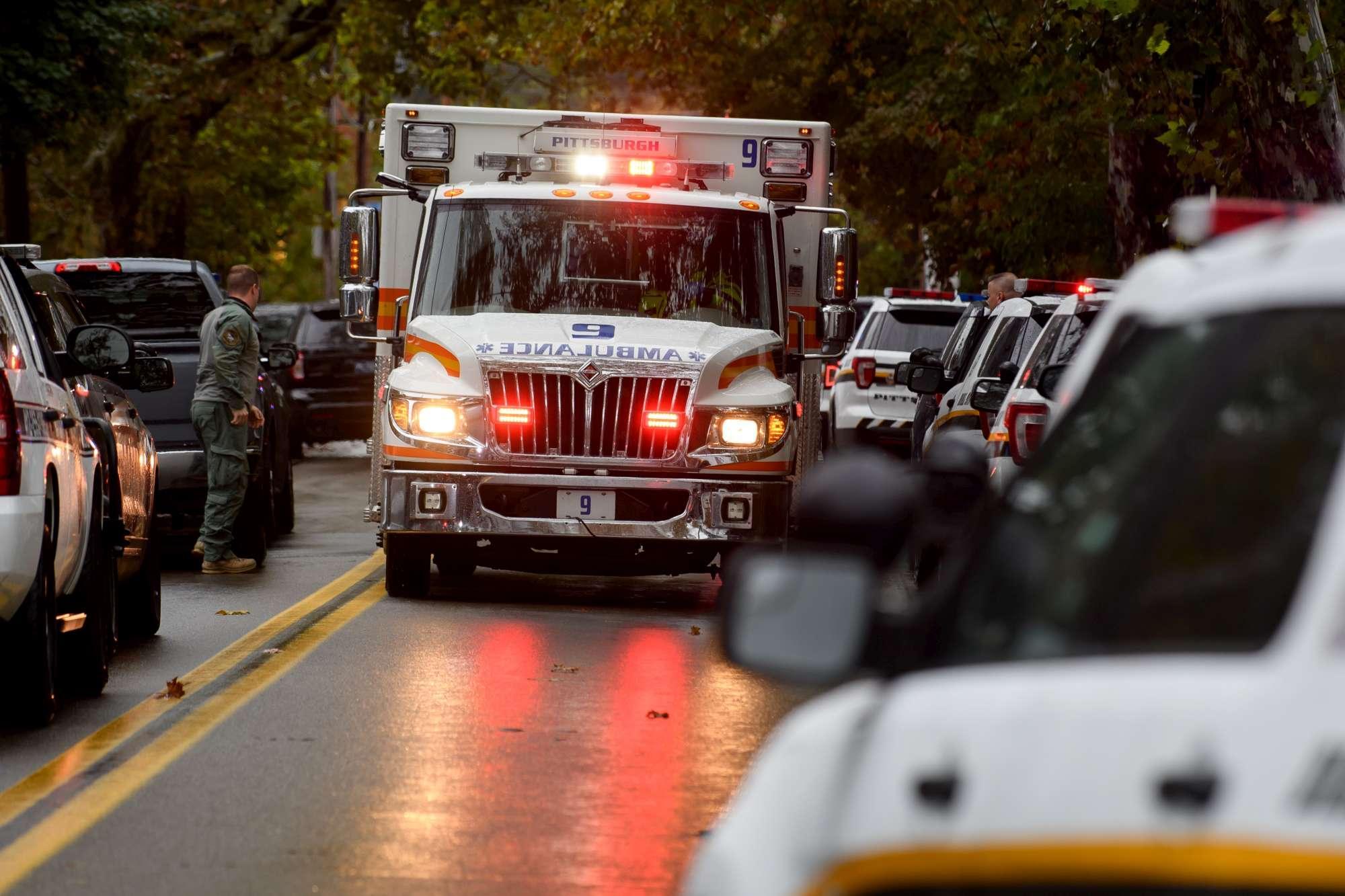 Usa, spari in una sinagoga a Pittsburgh: vittime