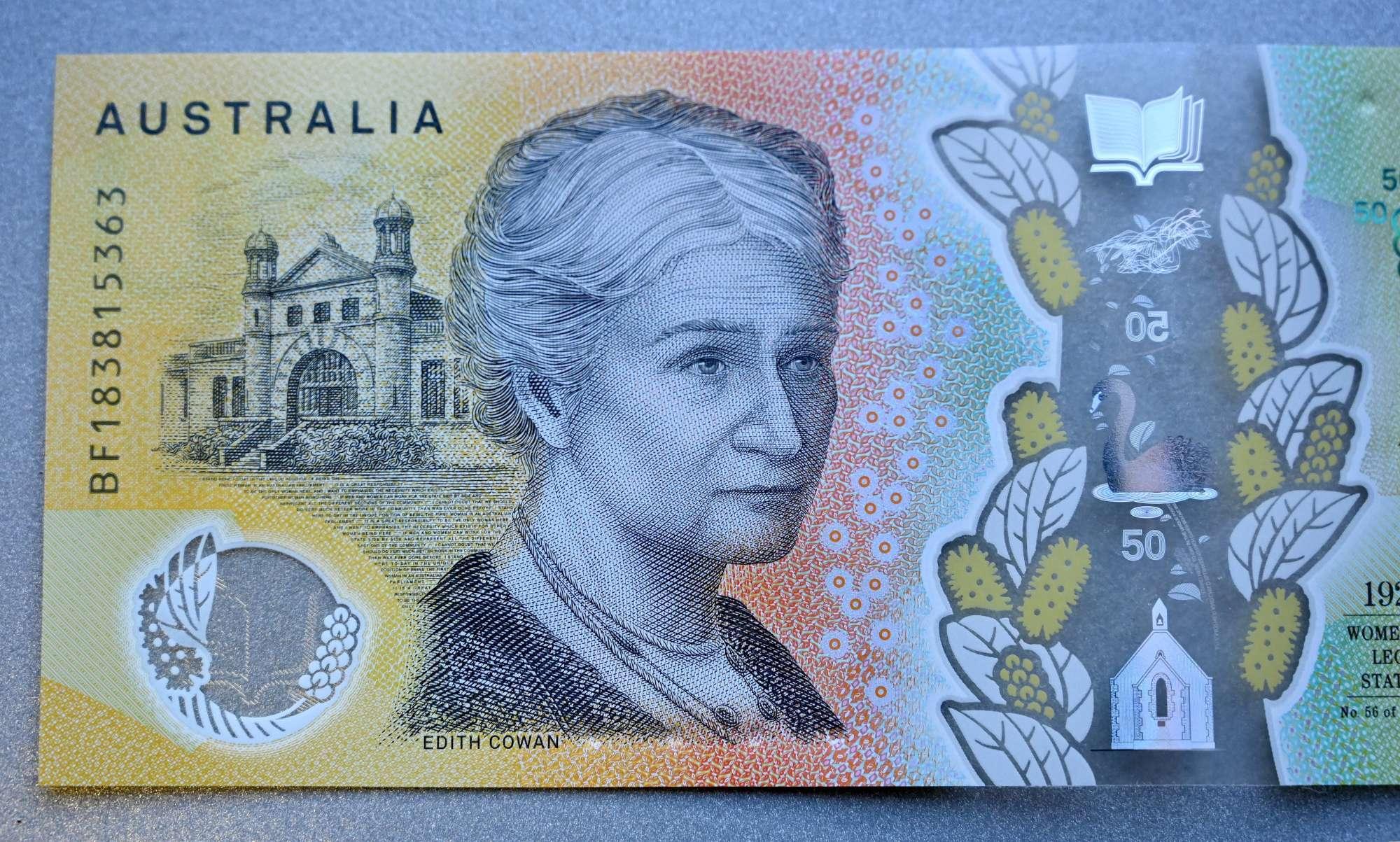 Australia, tre refusi nelle nuove banconote. Lo rivela un cittadino alla radio