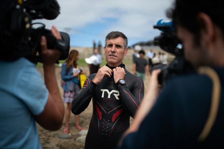 Da Tokyo a San Francisco a nuoto: parte l impresa