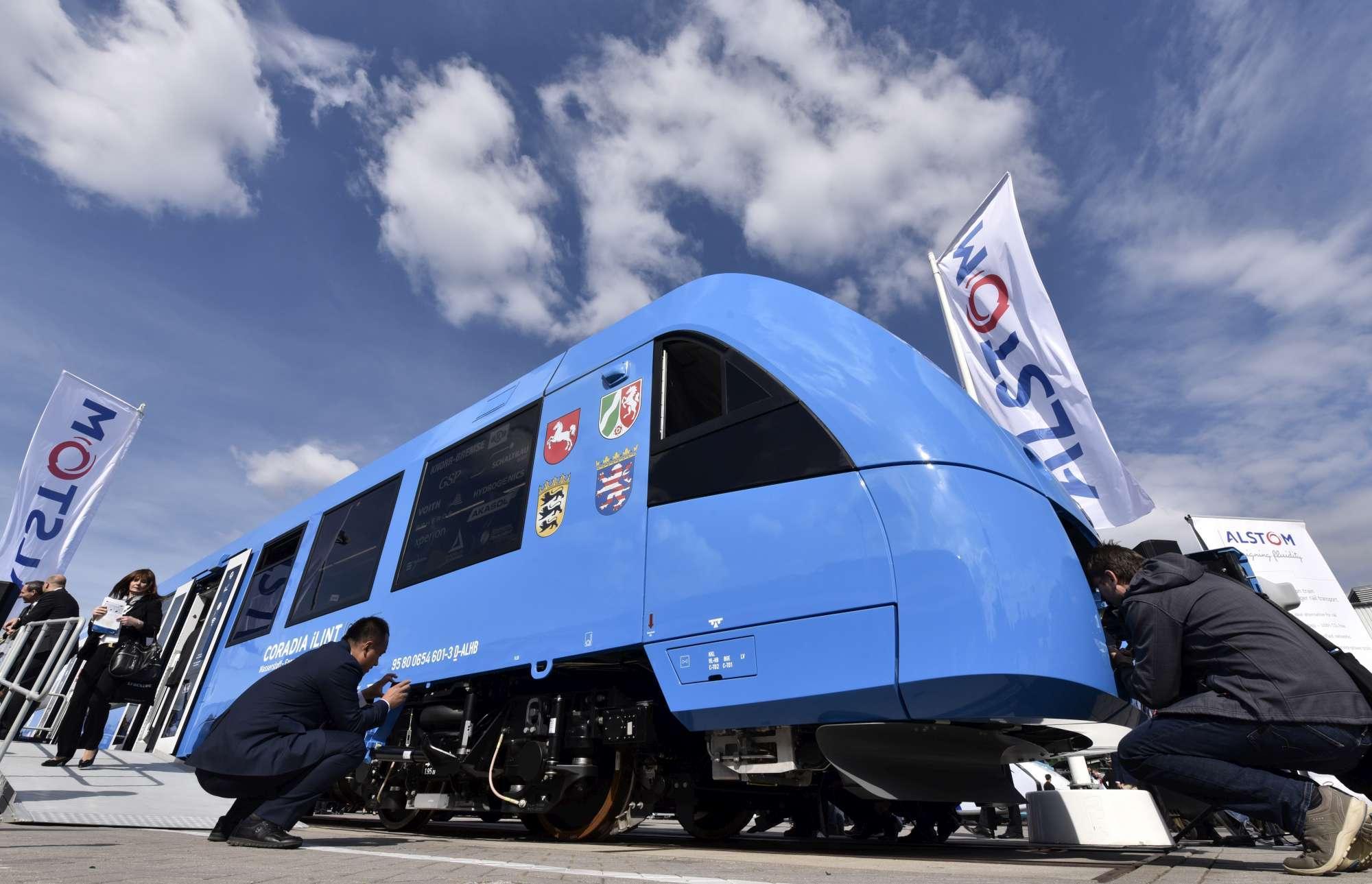 Trasporti a emissioni zero, il primo treno a idrogeno viaggerà in ... d55b4464dd