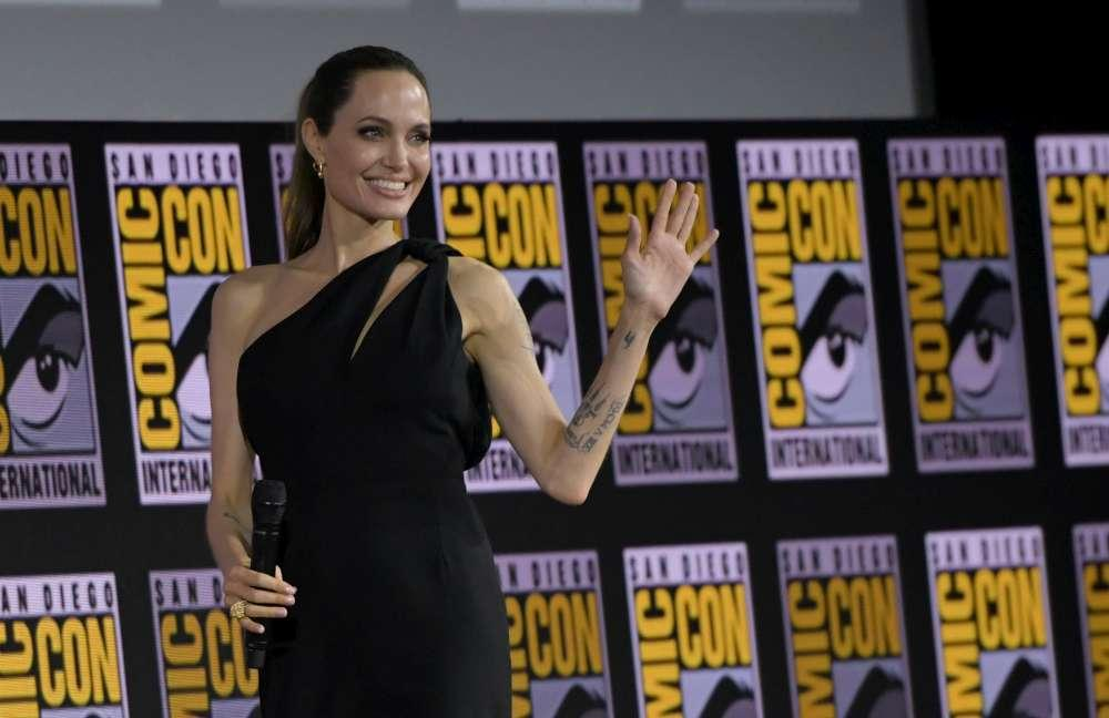 Angelina Jolie, eroina della Marvel in  The Eternals