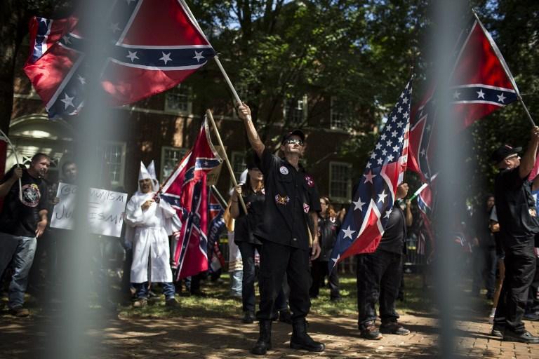 Virginia, scontri tra Ku Klux Klan e anti razzisti