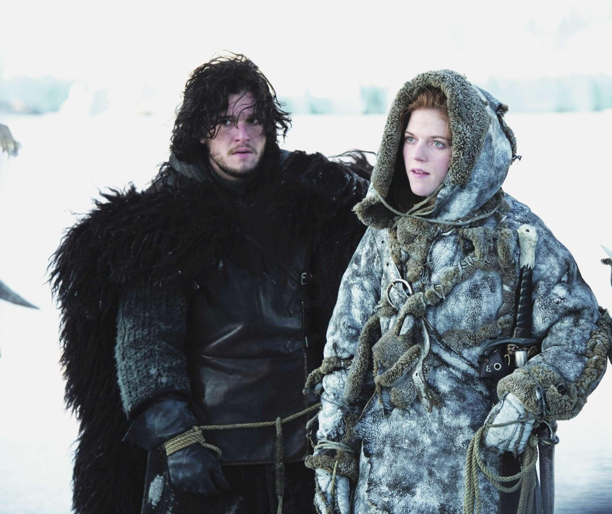 Game of Thrones , Kit Harington sul set