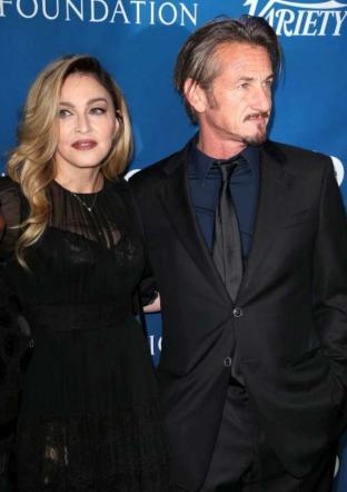 Sean Penn, dopo El Chapo si consola con Madonna