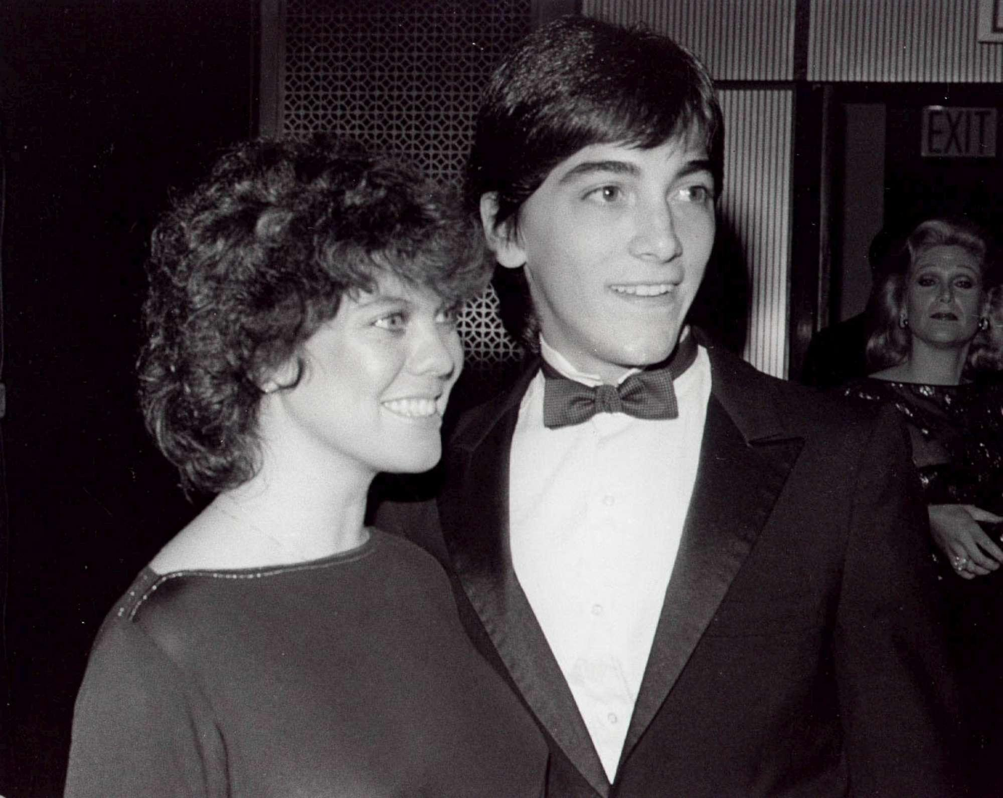 Scott Baio e Erin Moran, coppietta di  Happy Days