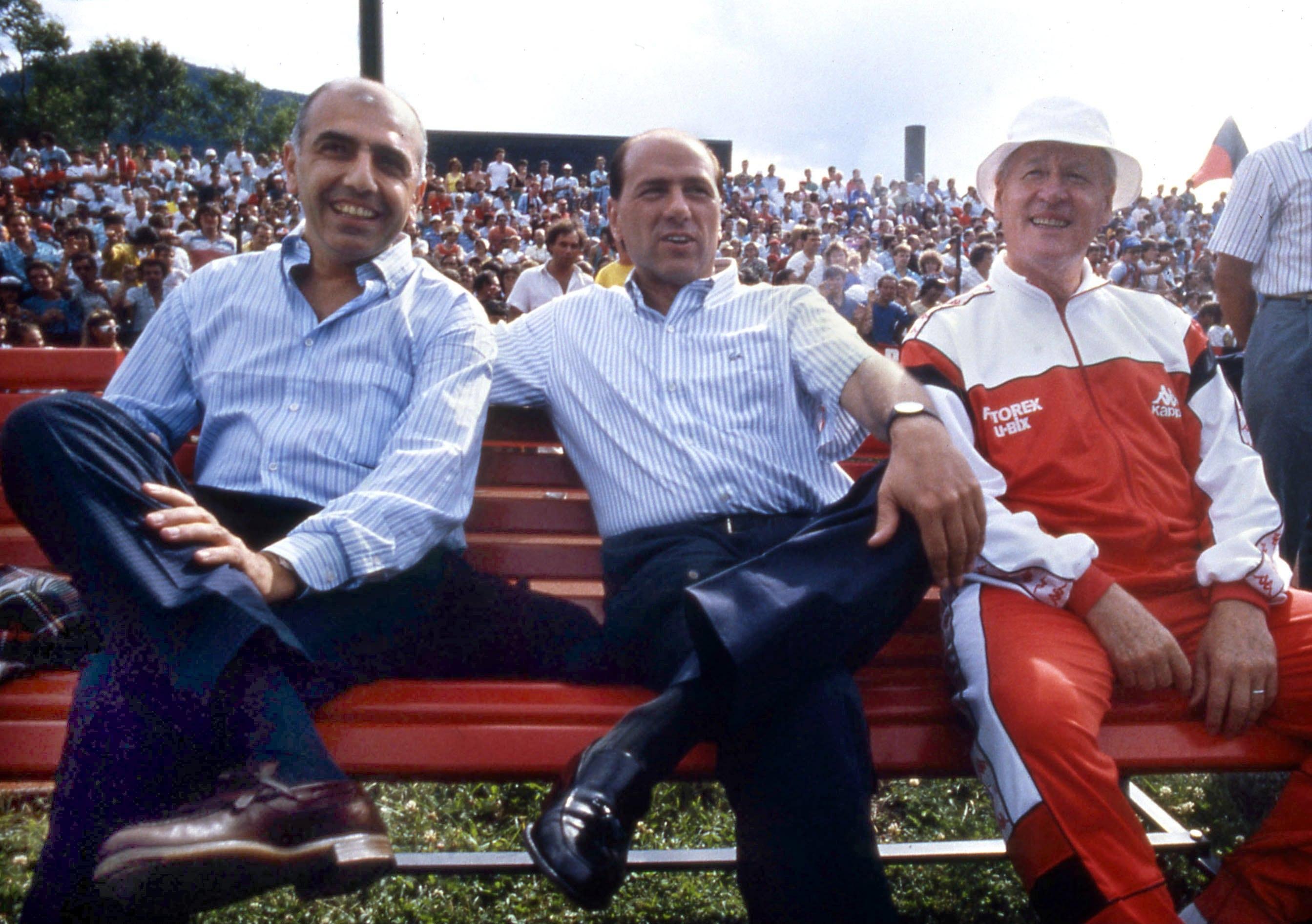 Silvio Berlusconi, tutti i trionfi da presidente del Milan