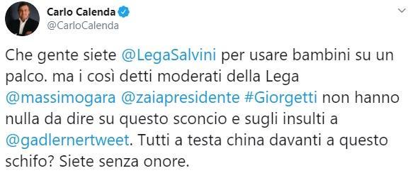 Salvini e la bimba di Bibbiano a Pontida, in Rete esplode l indignazione