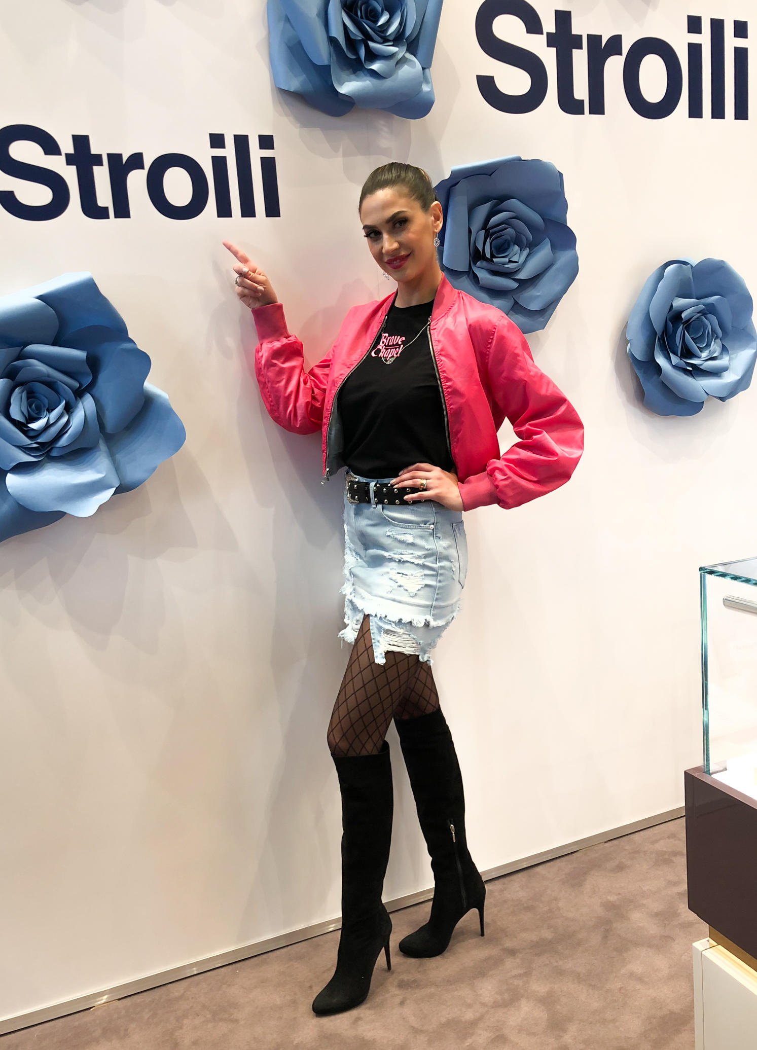 Jo Squillo: Stroili, new opening a Torino