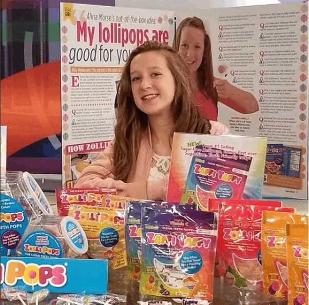 Gli Zollipops milionari di Alina Morse