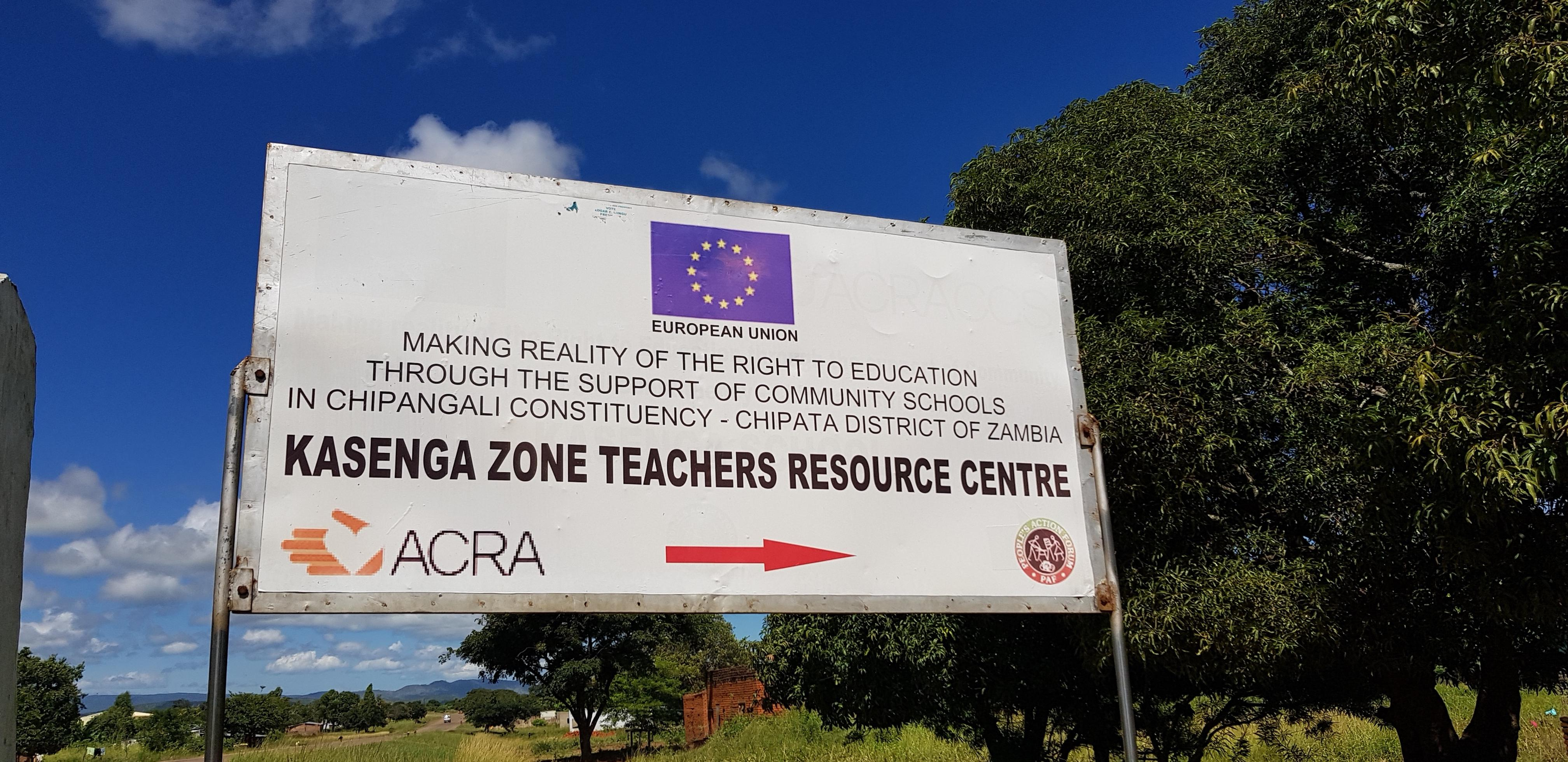 I viaggi di Stojan Around the World - scuole comunitarie in Zambia