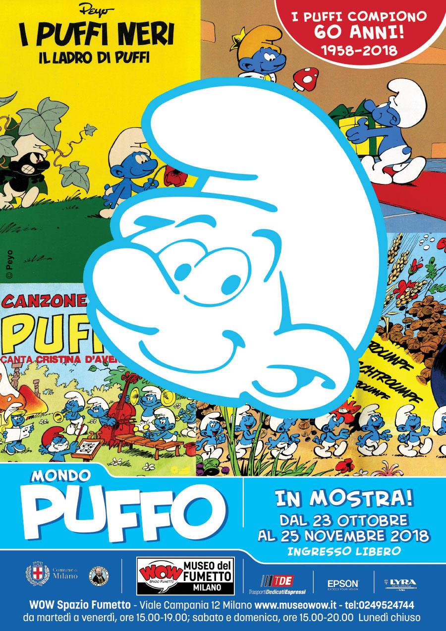 Sessant anni di Puffi in mostra a Milano - Tgcom24 7f88a4746135
