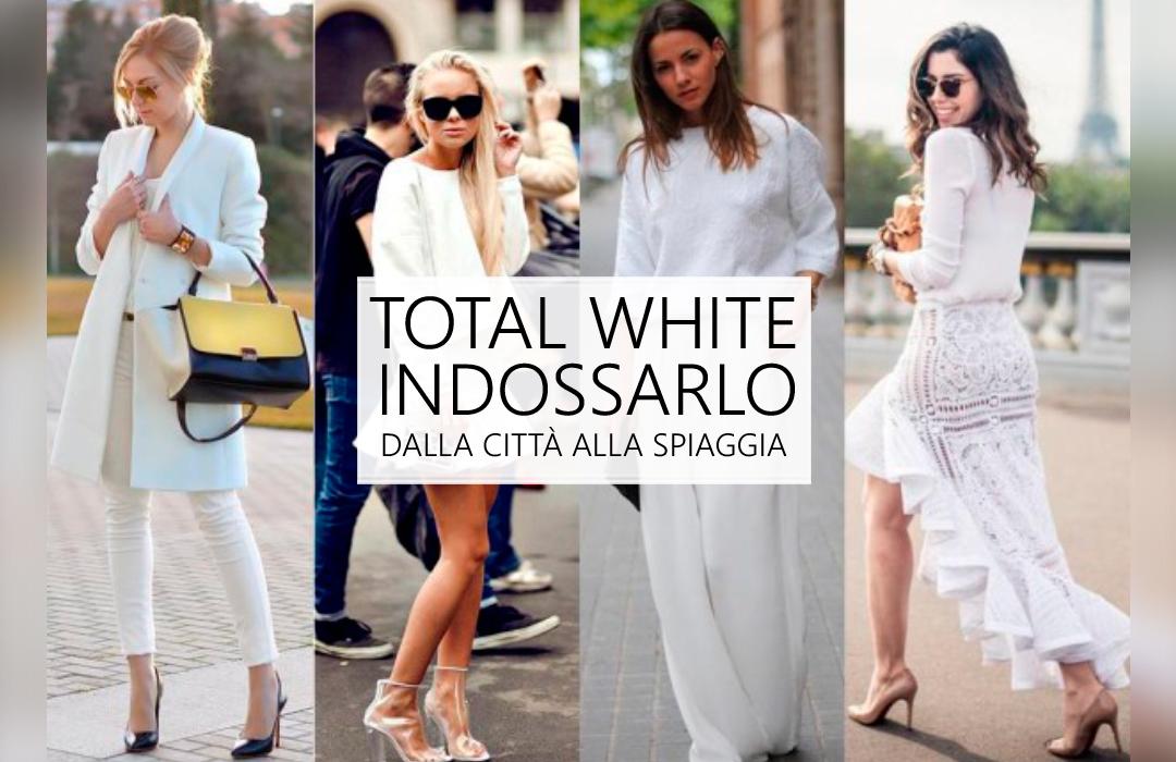 Tendenze di stagione: in estate la moda va...   in bianco