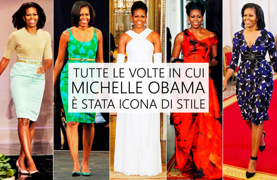 Michelle Obama, icona di stile