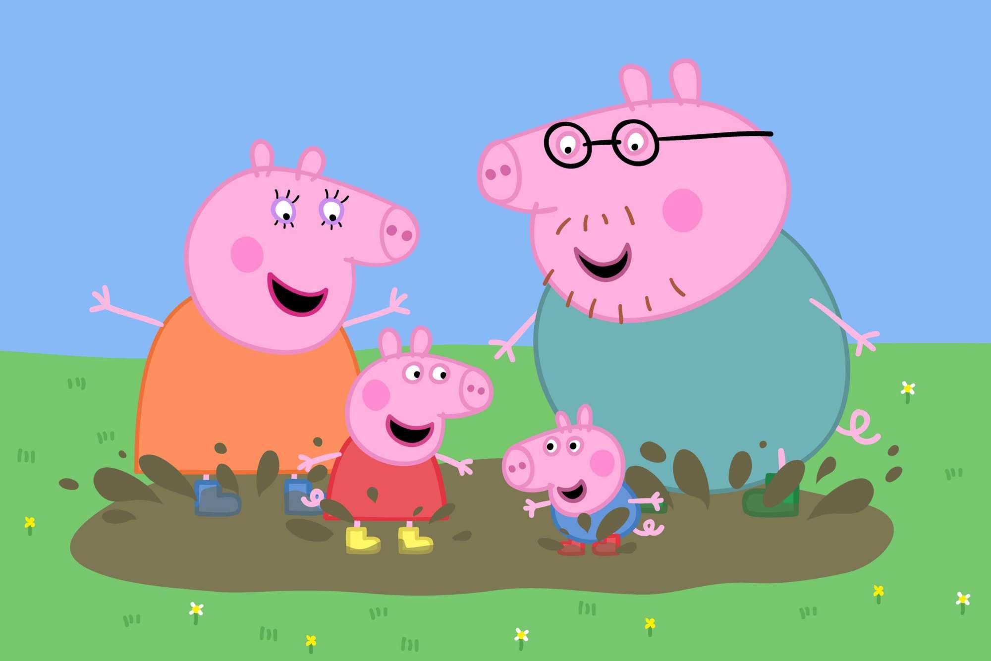 Peppa Pig , il cartone animato che spopola tra i bambini