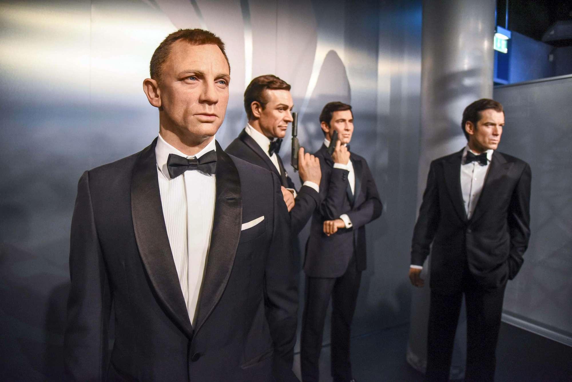 Ecco gli 007 di cera...