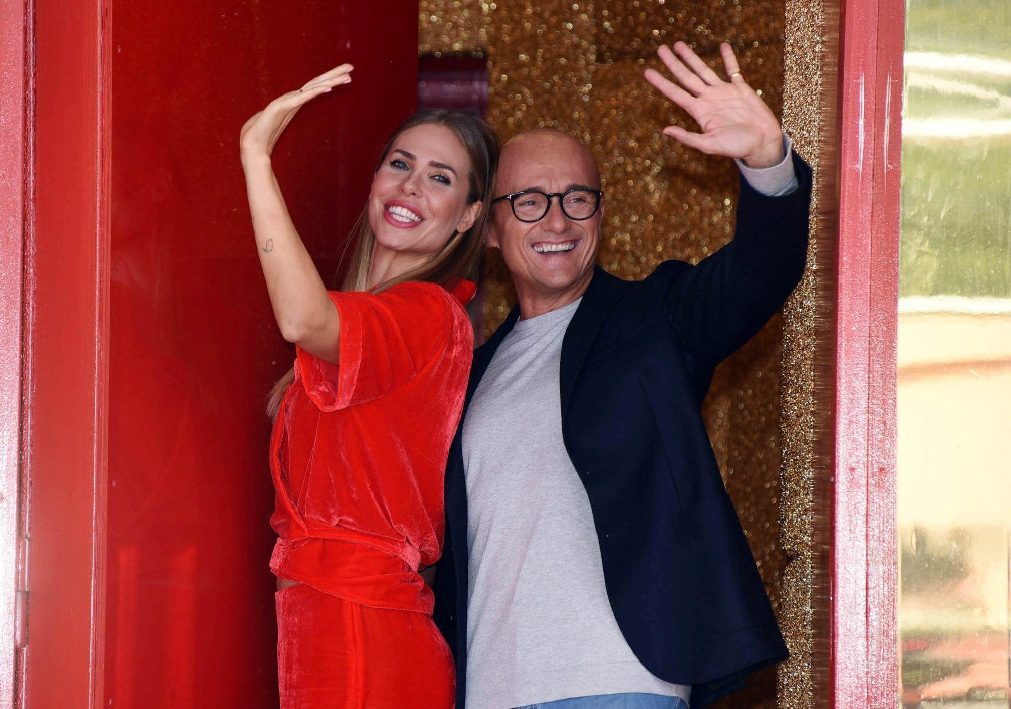 Grande Fratello Vip 2018, Ilary Blasi e Alfonso Signorini pronti al via