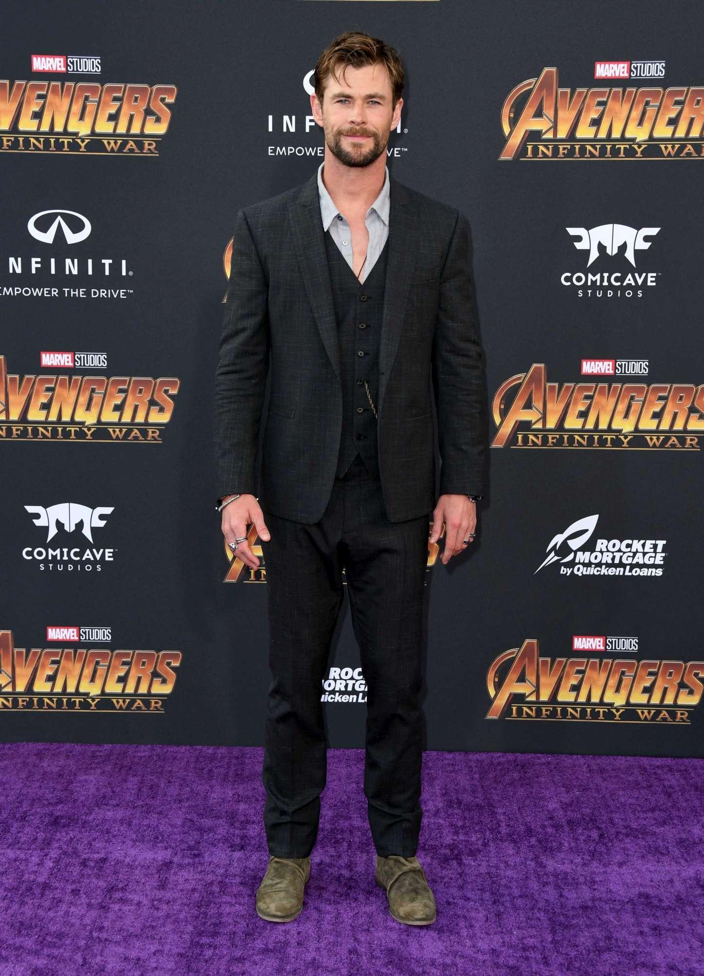 Avengers: Infinity War , il cast alla prima mondiale