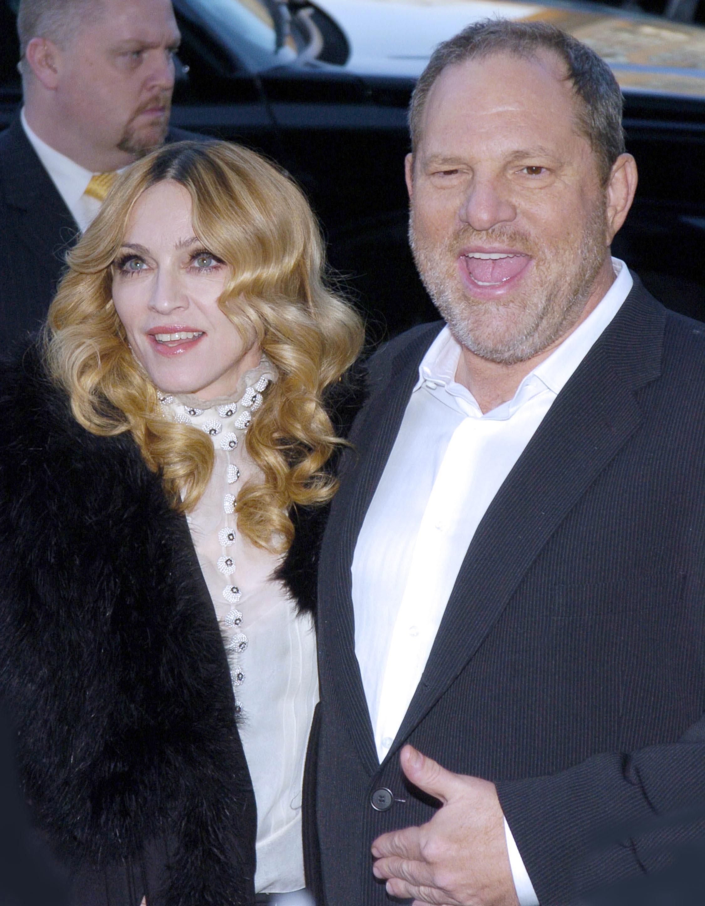 Anche Madonna vittima di Weinstein