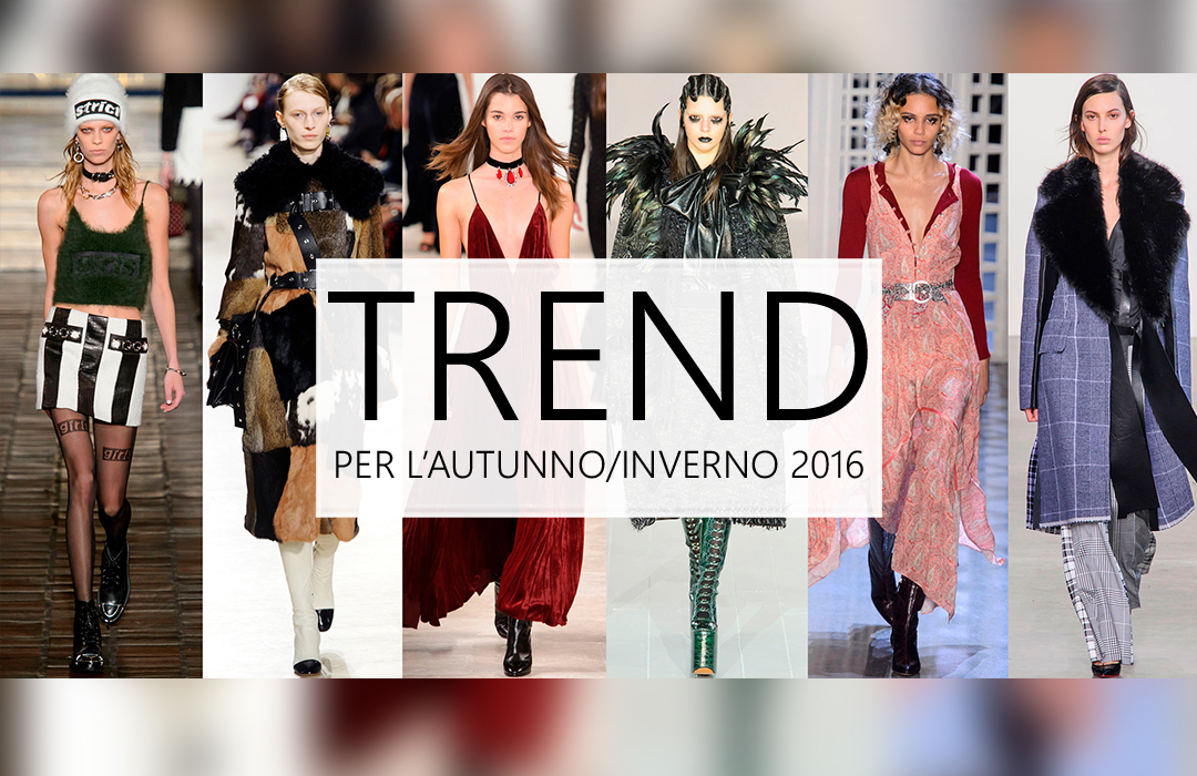 I trend moda per la stagione che verrà