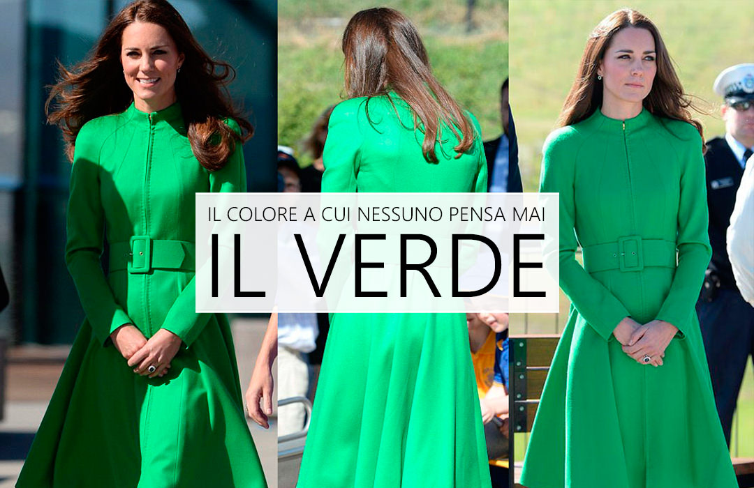 La moda va in verde