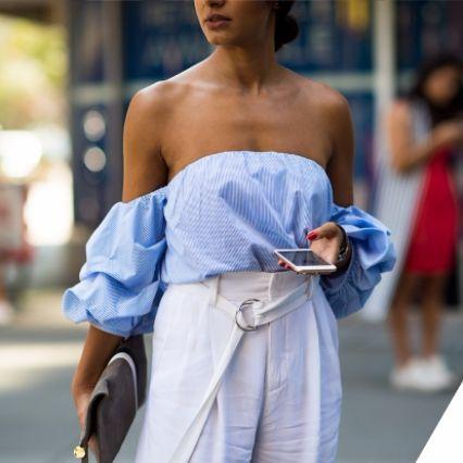 Moda: sono di tendenza le spalle scoperte
