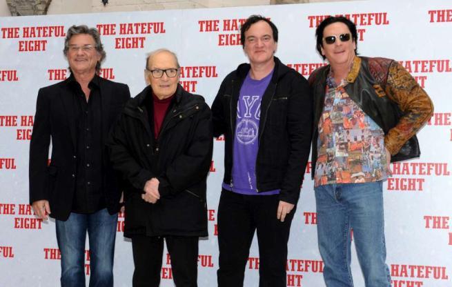Tarantino presenta The Hateful Eight a Roma:  Questo è anche un film politico
