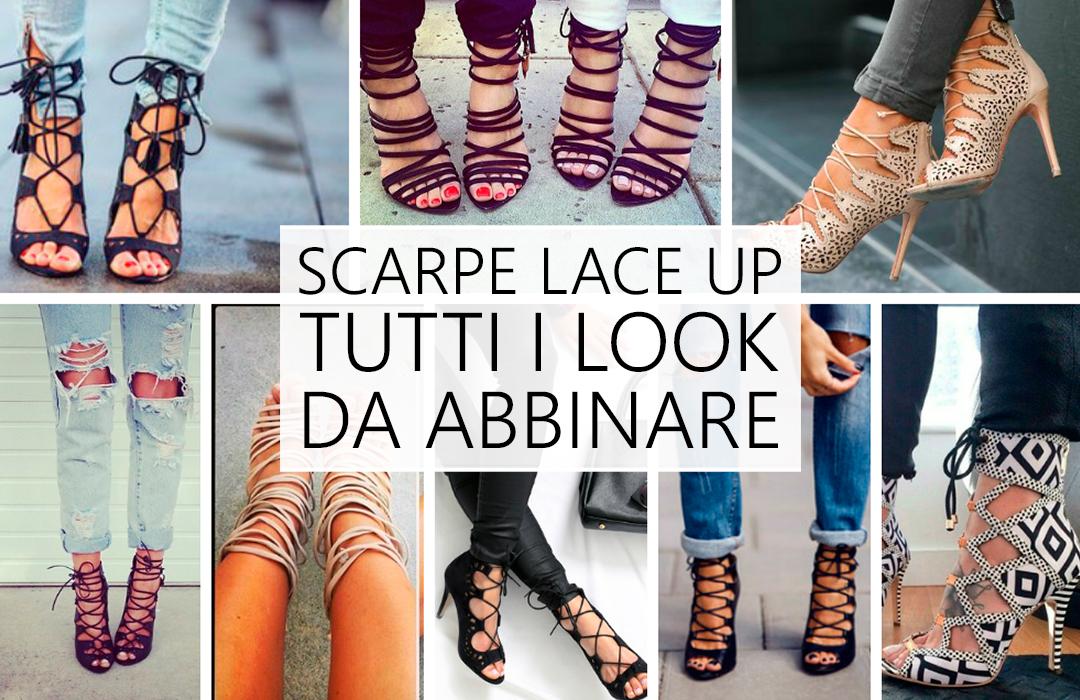 Lace-up: scarpe sensuali, versatili e alla moda