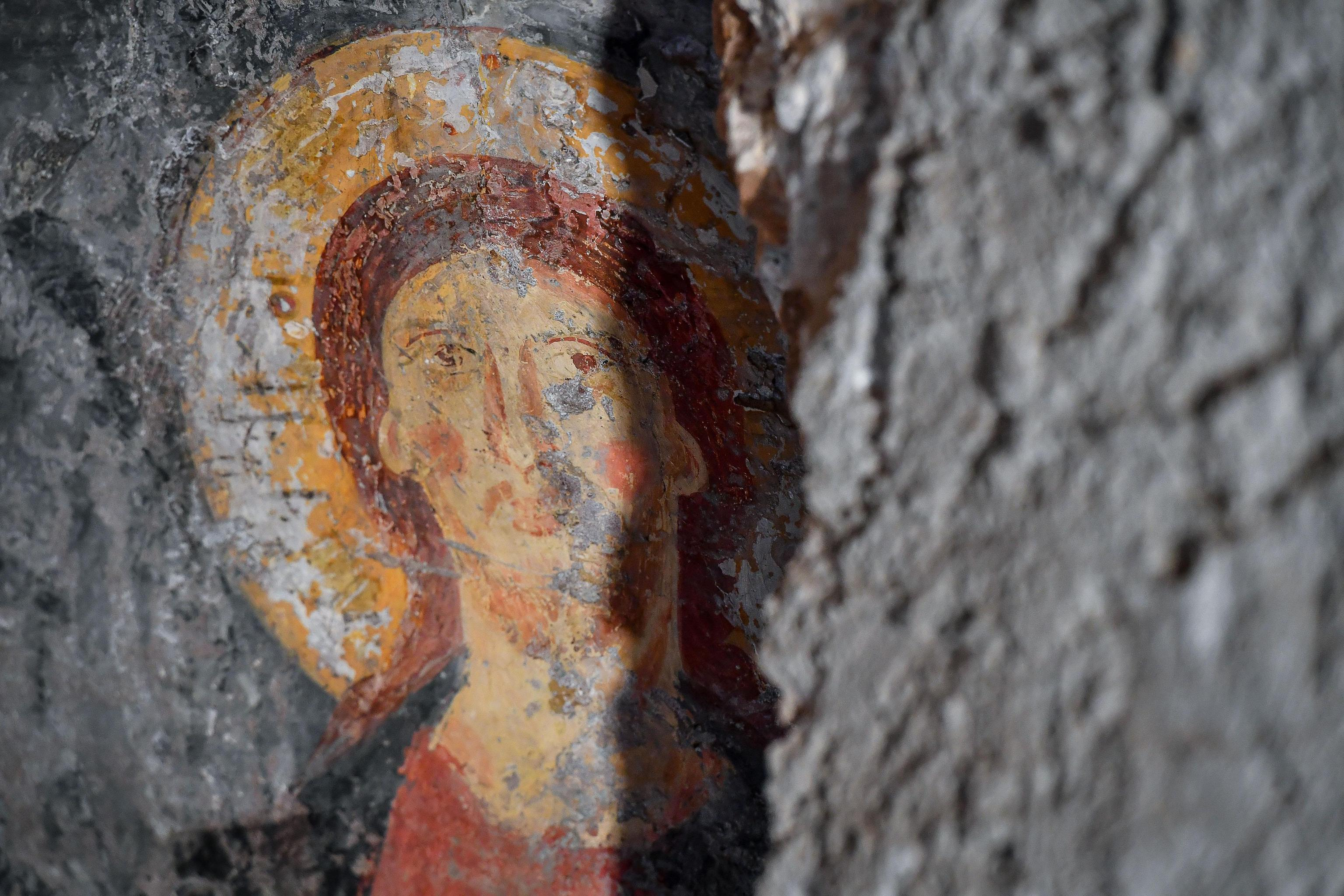 Roma, l affresco medievale scoperto nella chiesa di Sant Alessio all Aventino