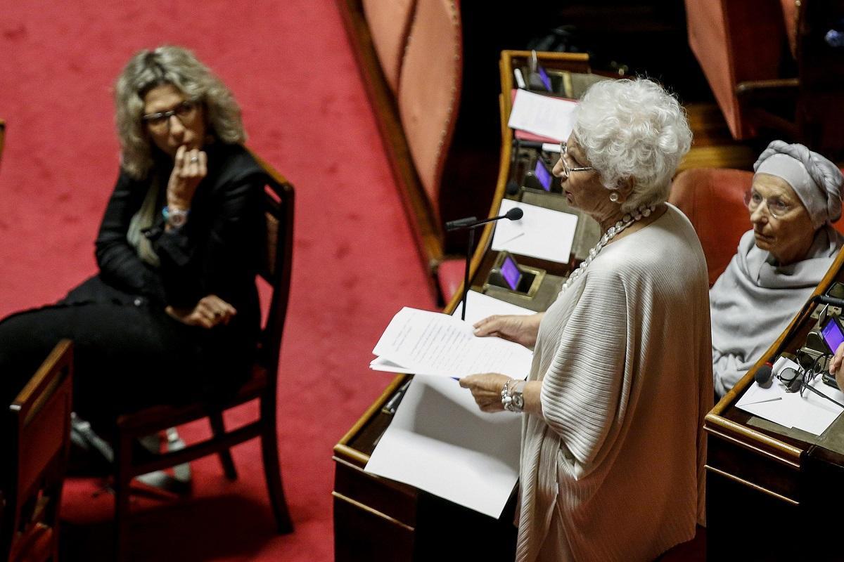 Governo, Liliana Segre:  Fiduciosa voto la fiducia