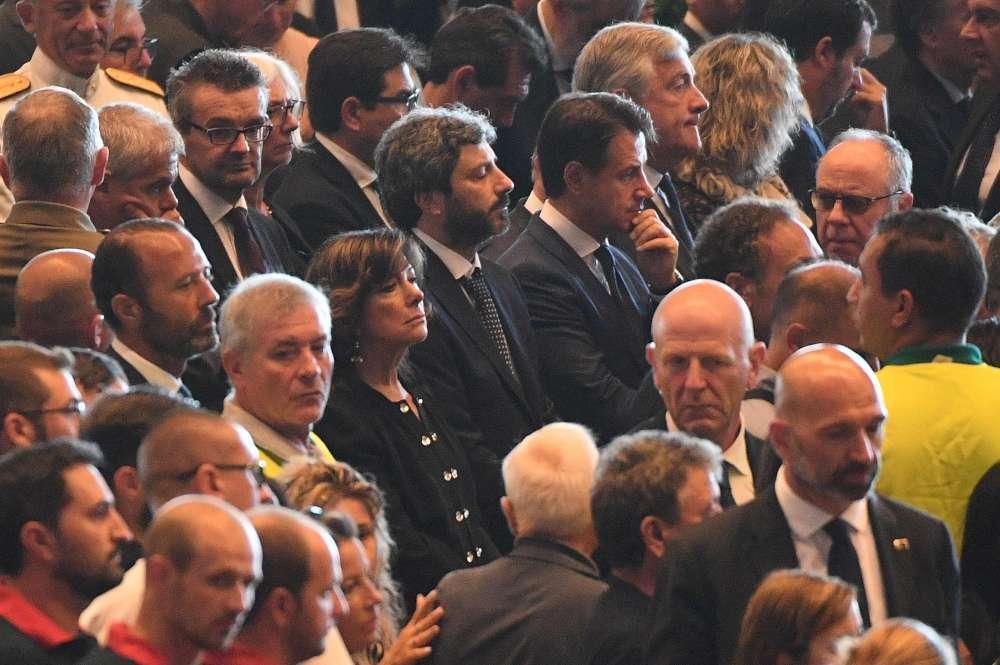 Genova, funerali di Stato per le vittime del crollo del ponte Morandi