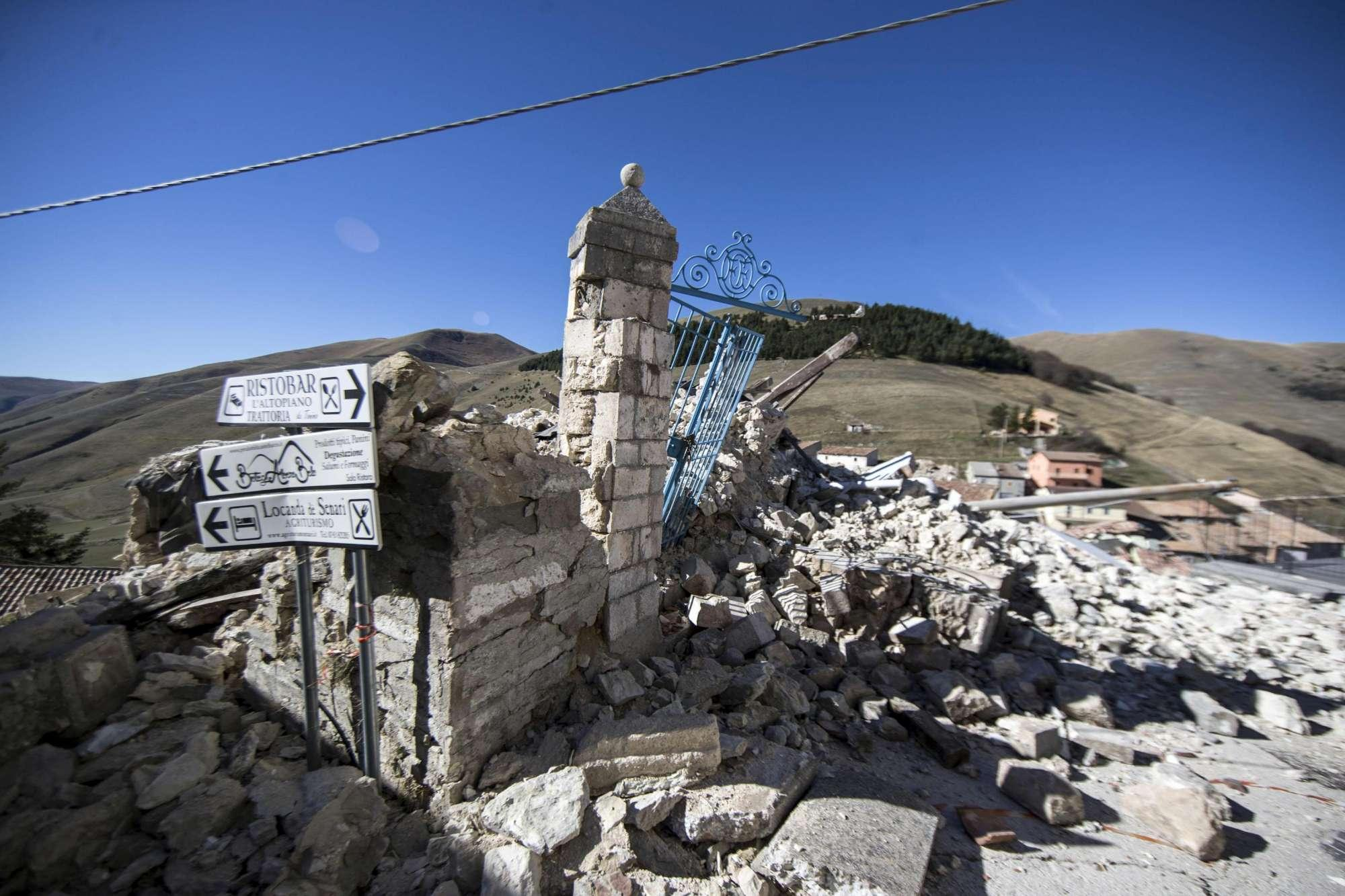 Terremoto, Ingv:  Deformazioni in 130 chilometri di territorio