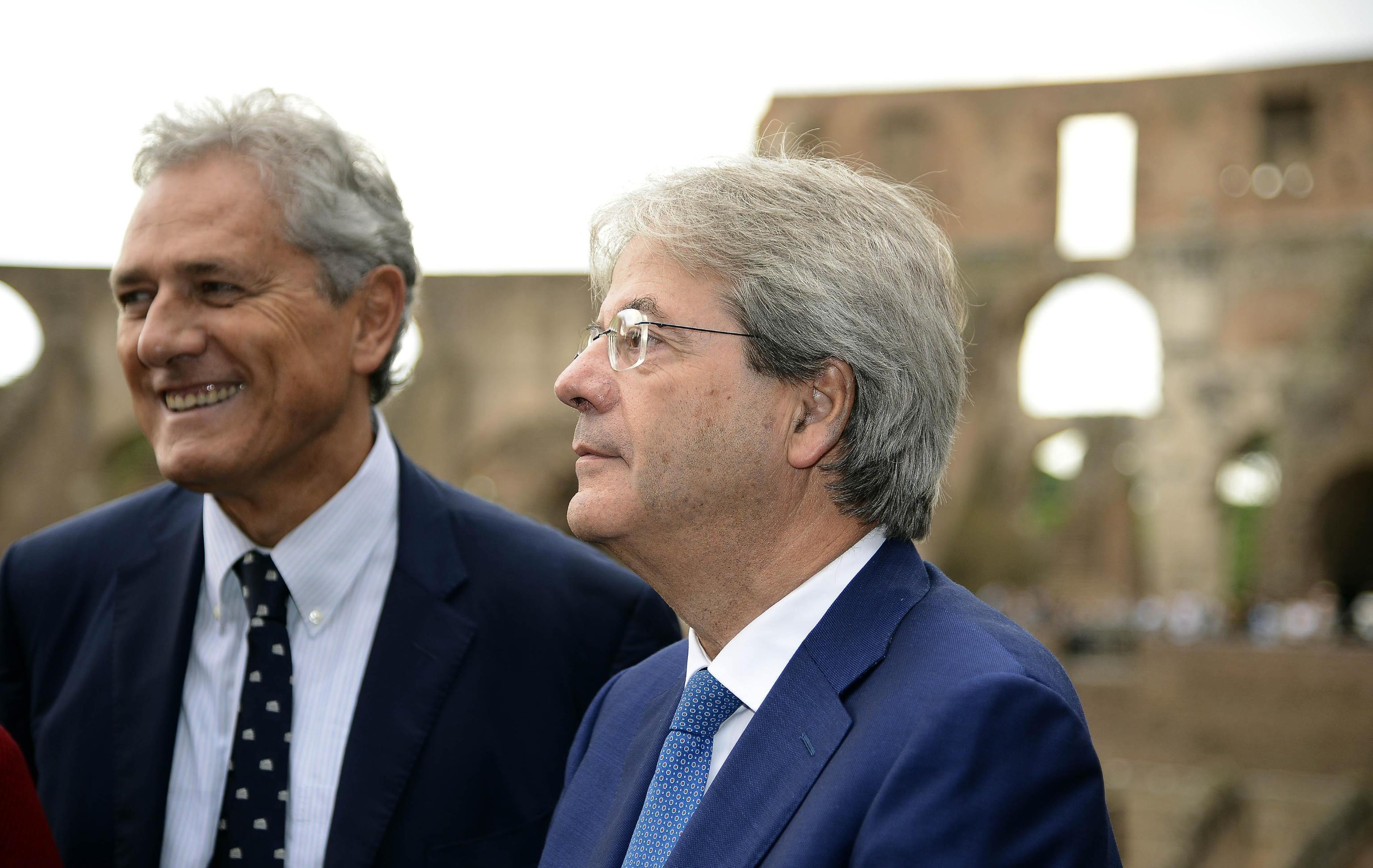Paolo Gentiloni, la carriera politica per immagini