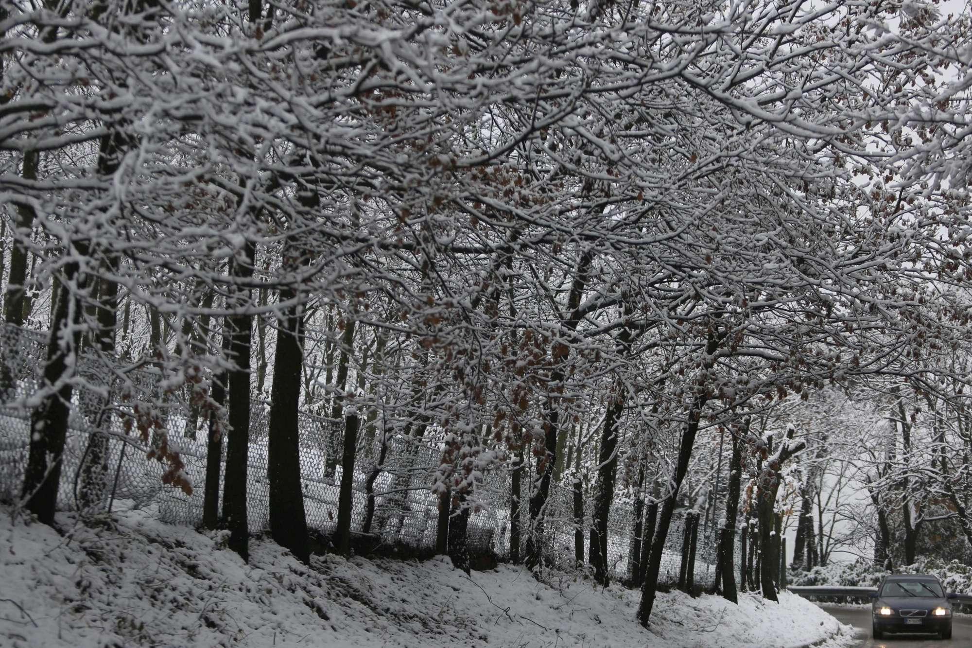 Italia imbiancata: neve in Emilia, Piemonte e Sardegna
