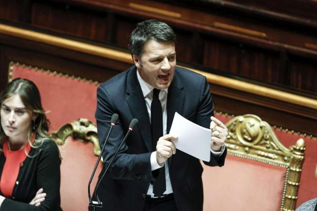 Senato, ddl Riforme approvato con 180 sìRenzi:  Se perdo il referendum lascio