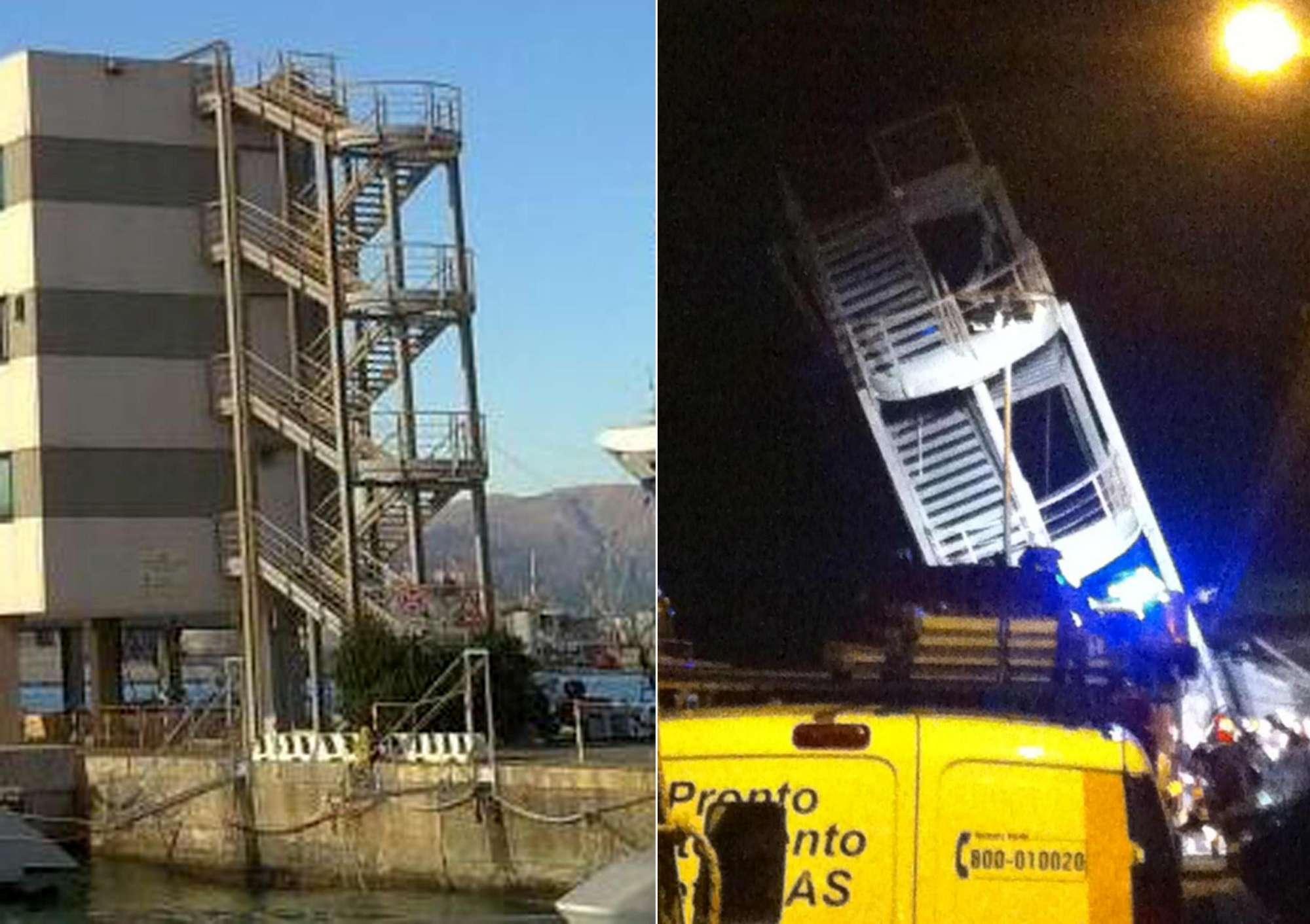 Il crollo della torre, le vittime e il dolore dei famliari