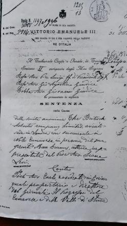 Eternit, l'amianto venne dichiarato pericoloso già in una sentenza del 1906