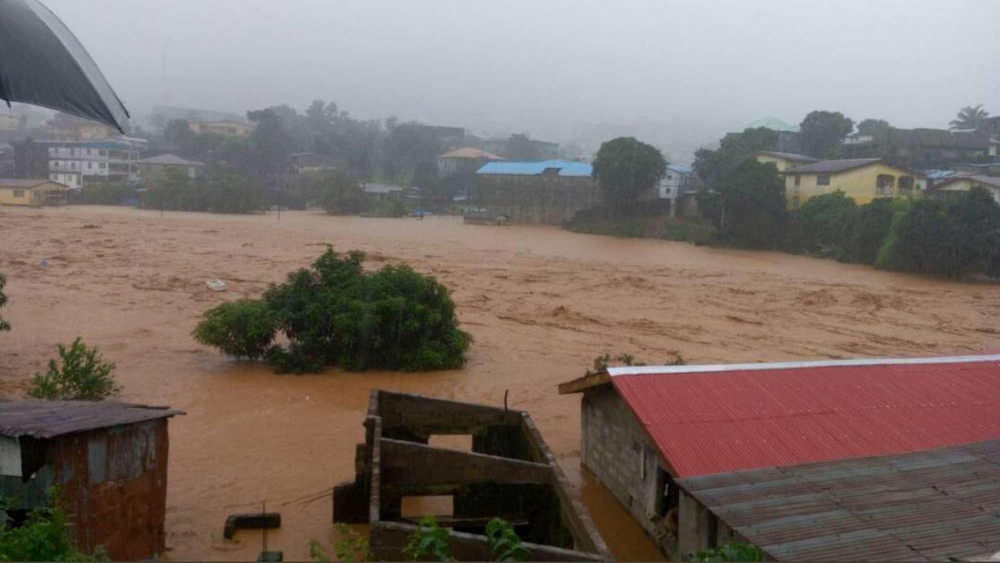Alluvioni e frane in Sierra Leone, centinaia di morti a Freetown