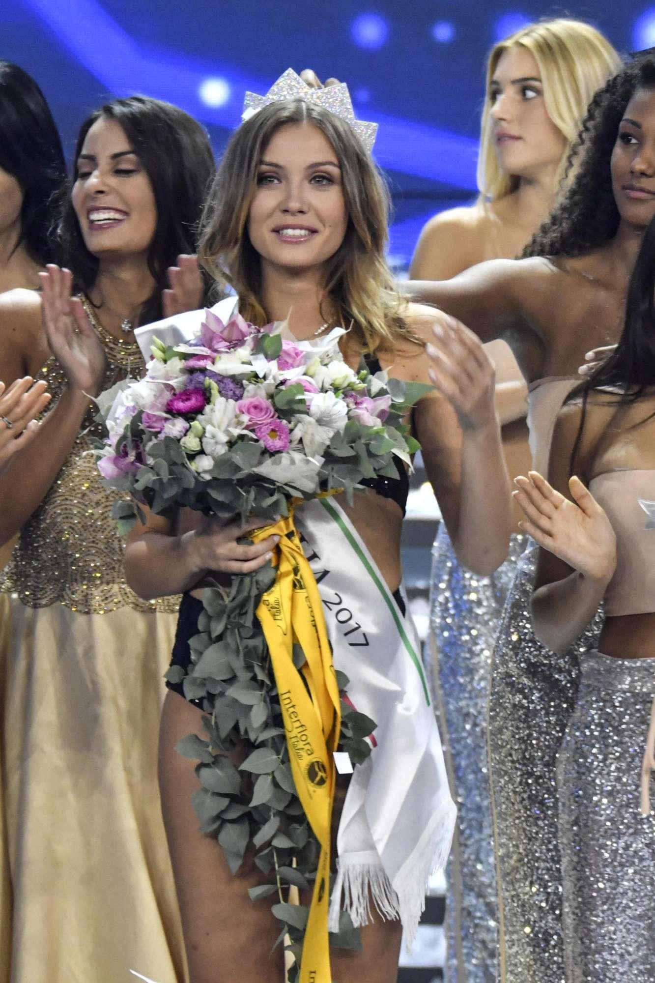 Miss Italia 2017: vince Alice Rachele Arlanch