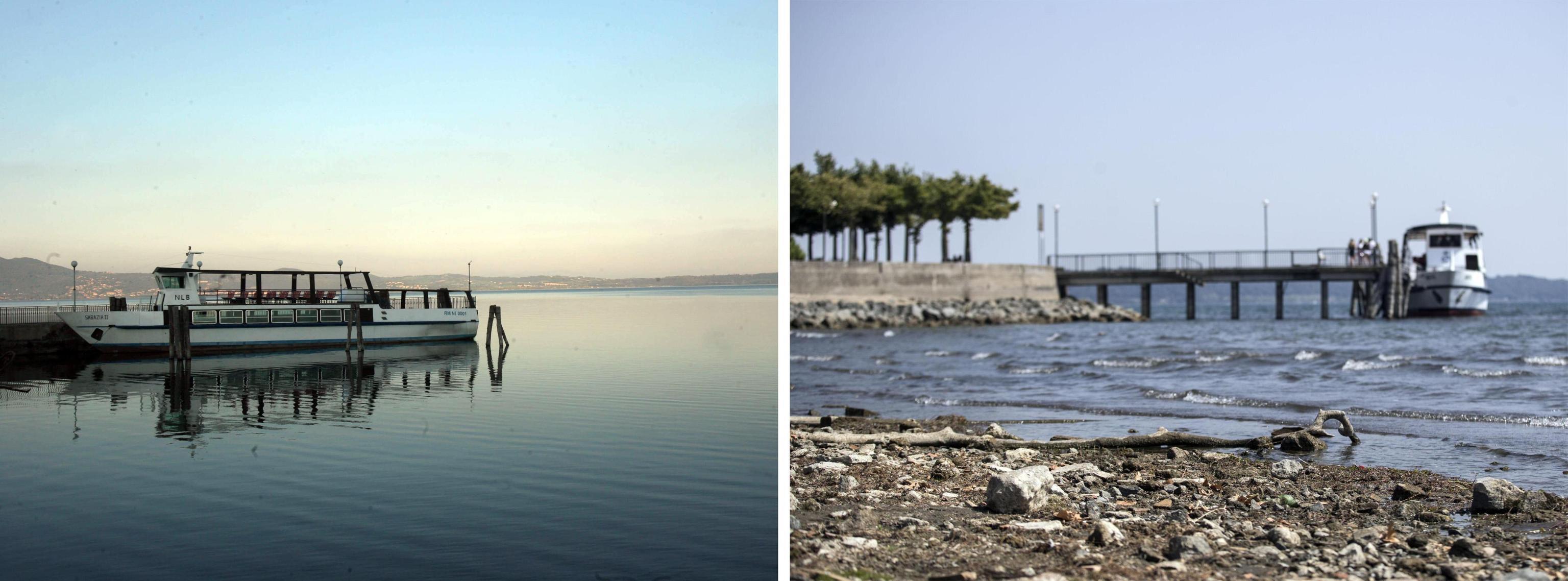 Emergenza siccità nel Lazio: le foto shock