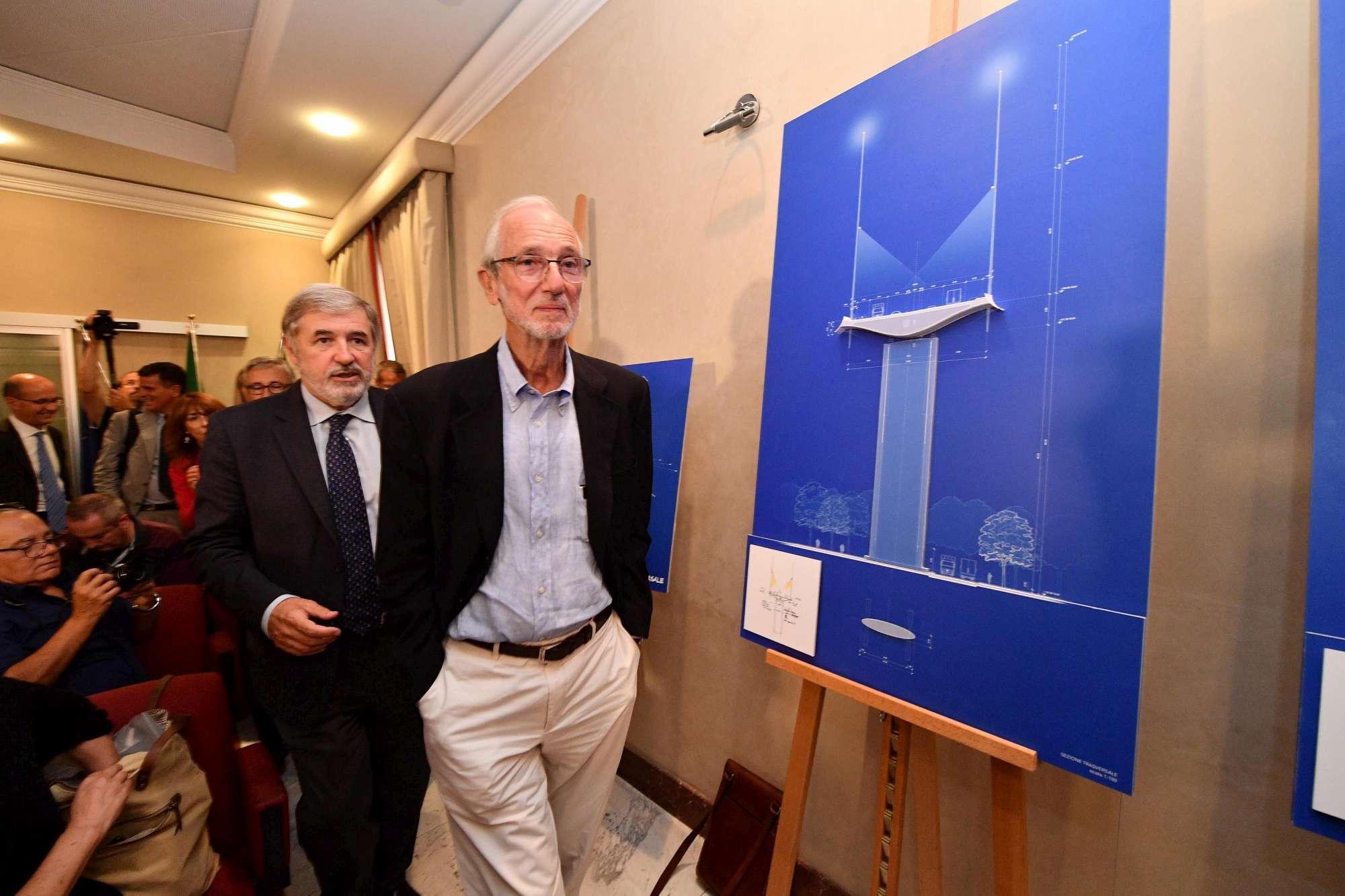 Genova, Renzo Piano presenta il suo ponte